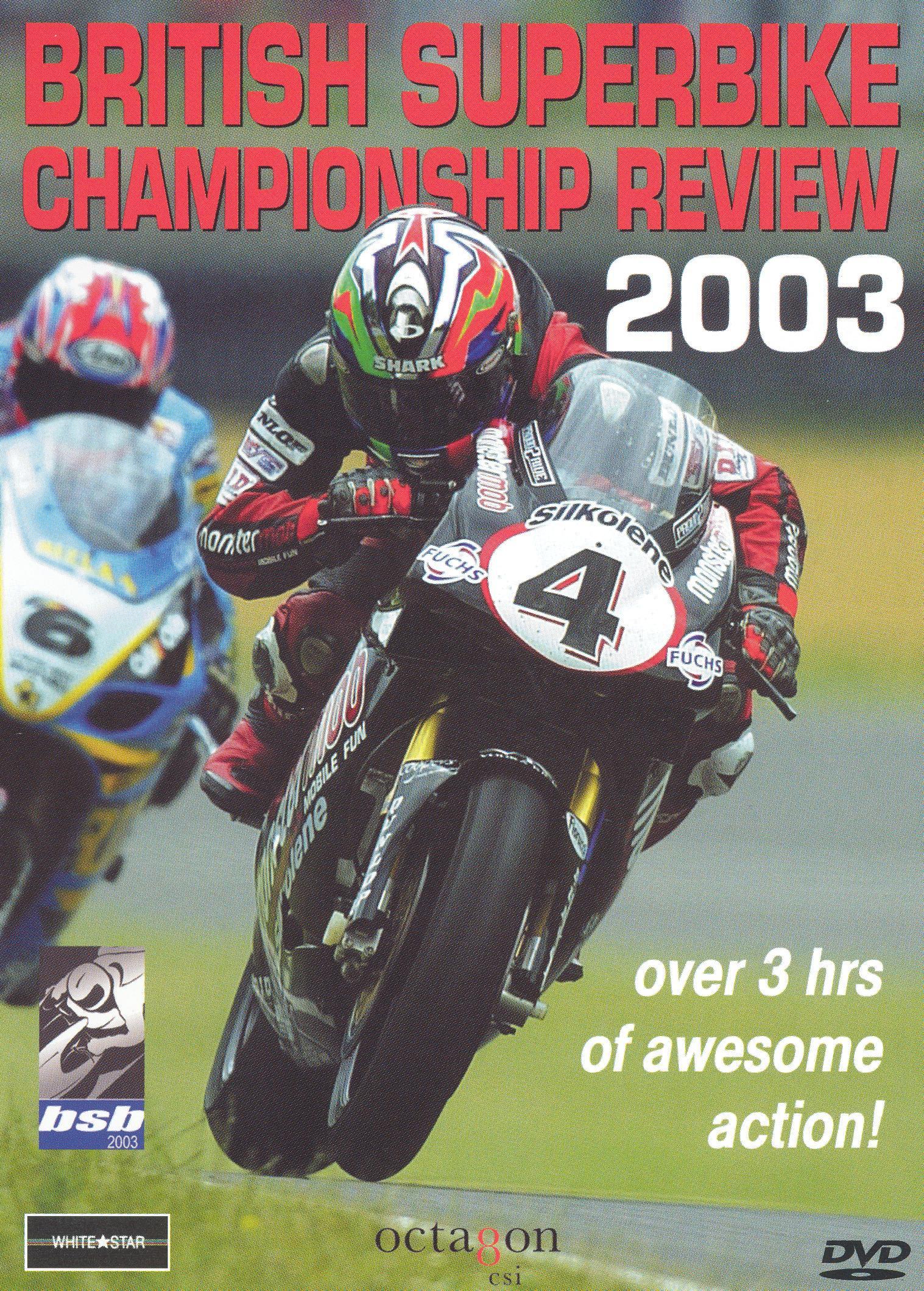British Superbike Championship Review 2003