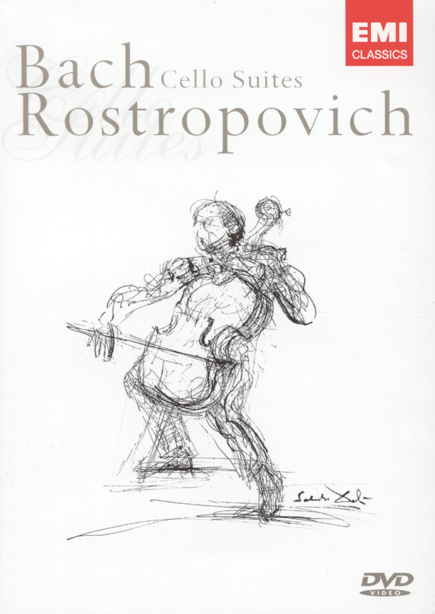 Rostropovich: Bach - Cello Suites
