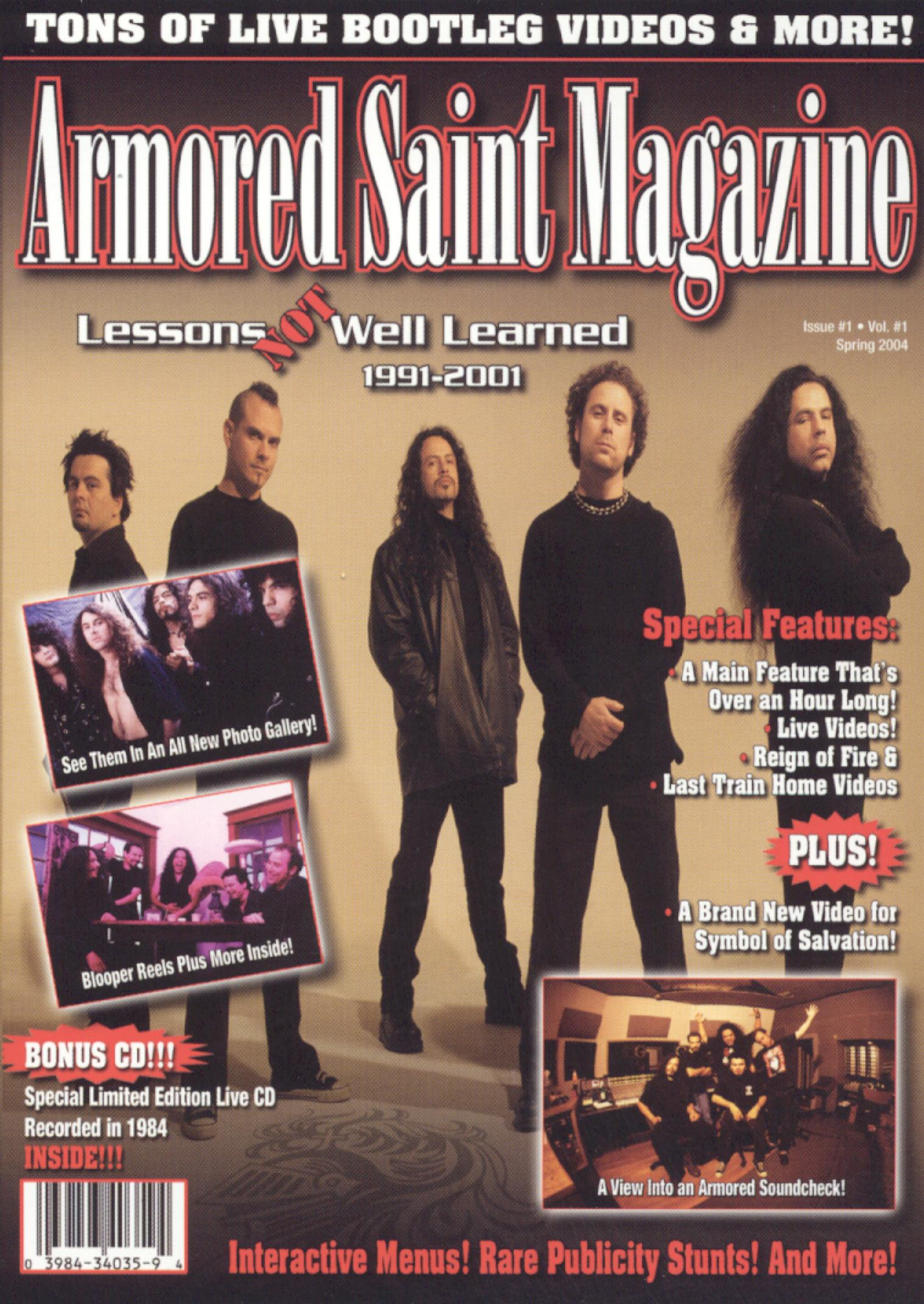 Armored Saint: Lessons Not Well Learned 1991-2001