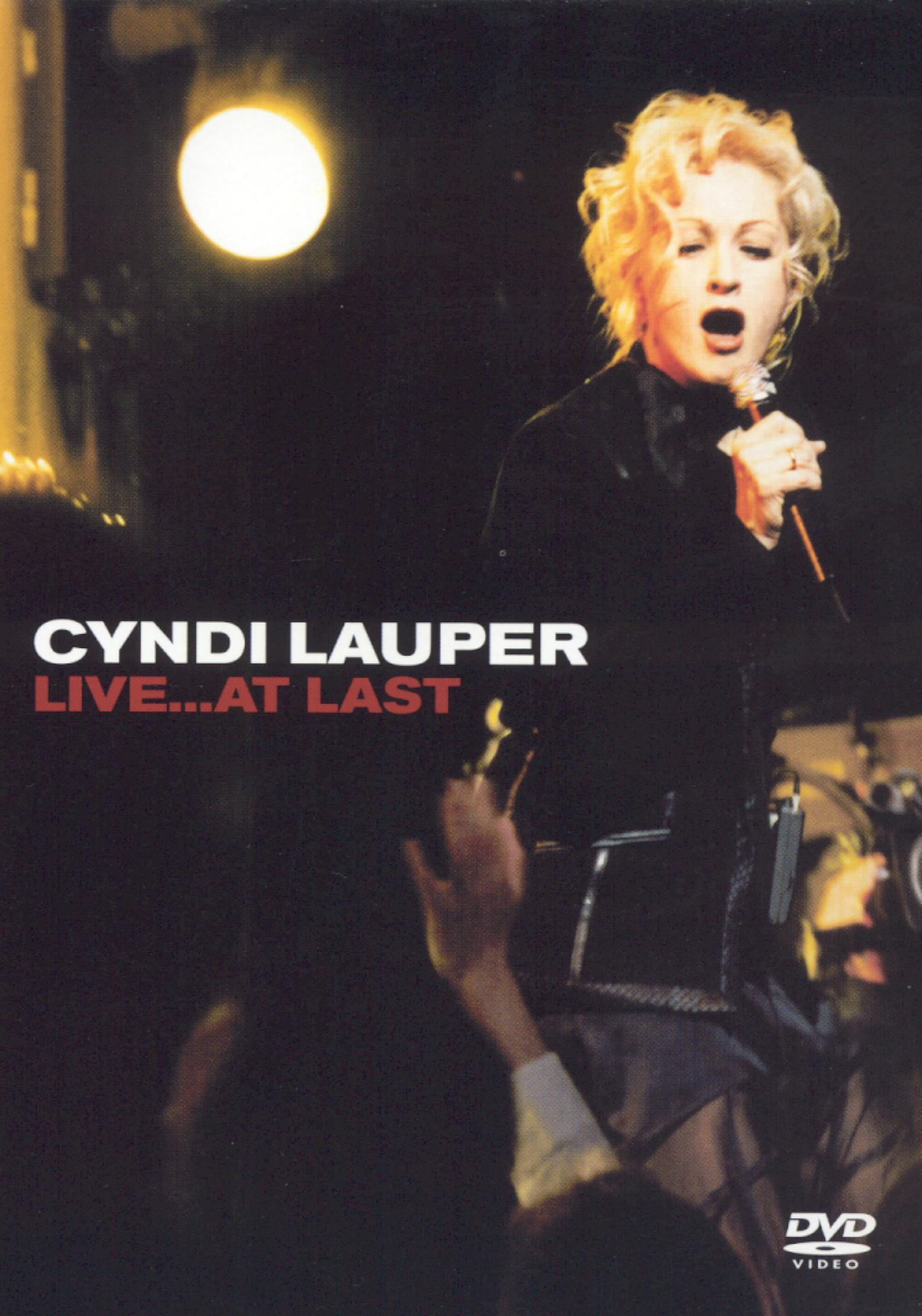 Cyndi Lauper: Live... At Last