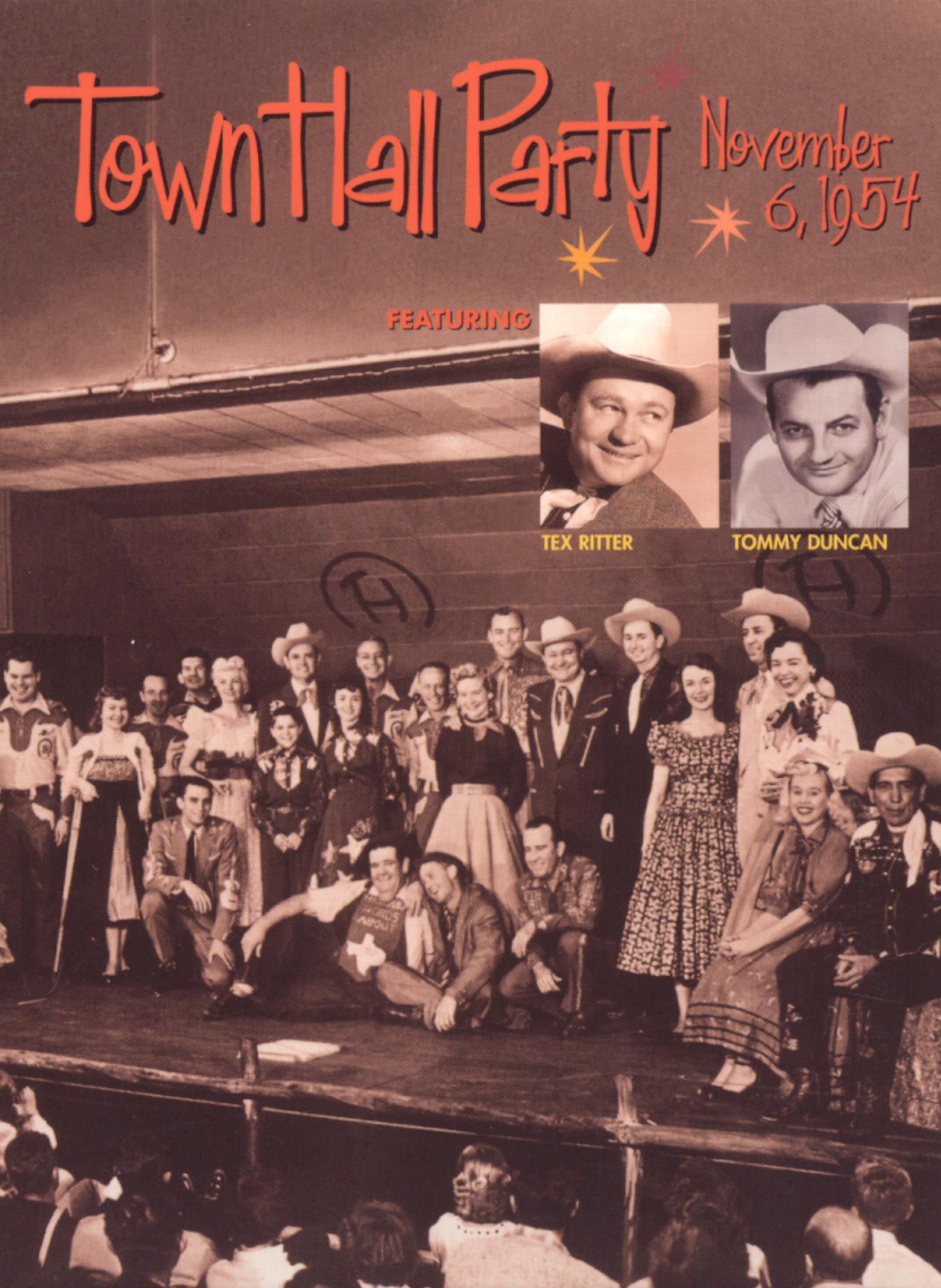 Town Hall Party: November 6, 1954