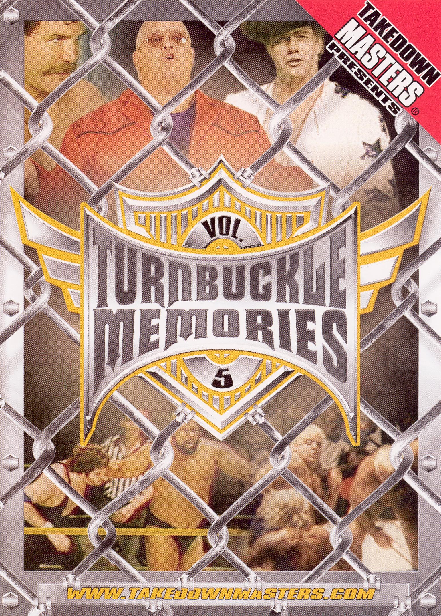 Takedown Masters: Turnbuckle Memories, Vol. 5