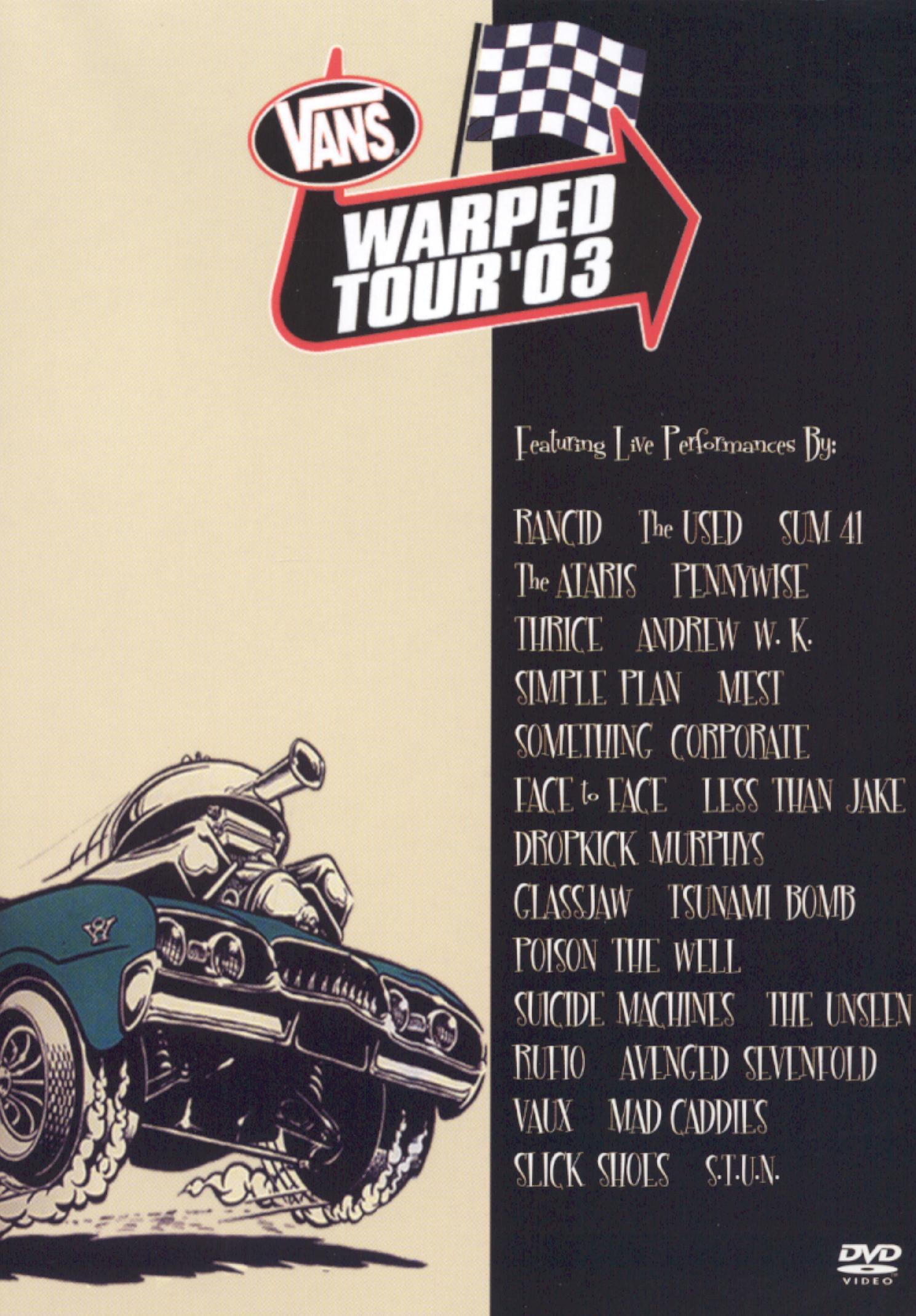 Vans Warped Tour '03