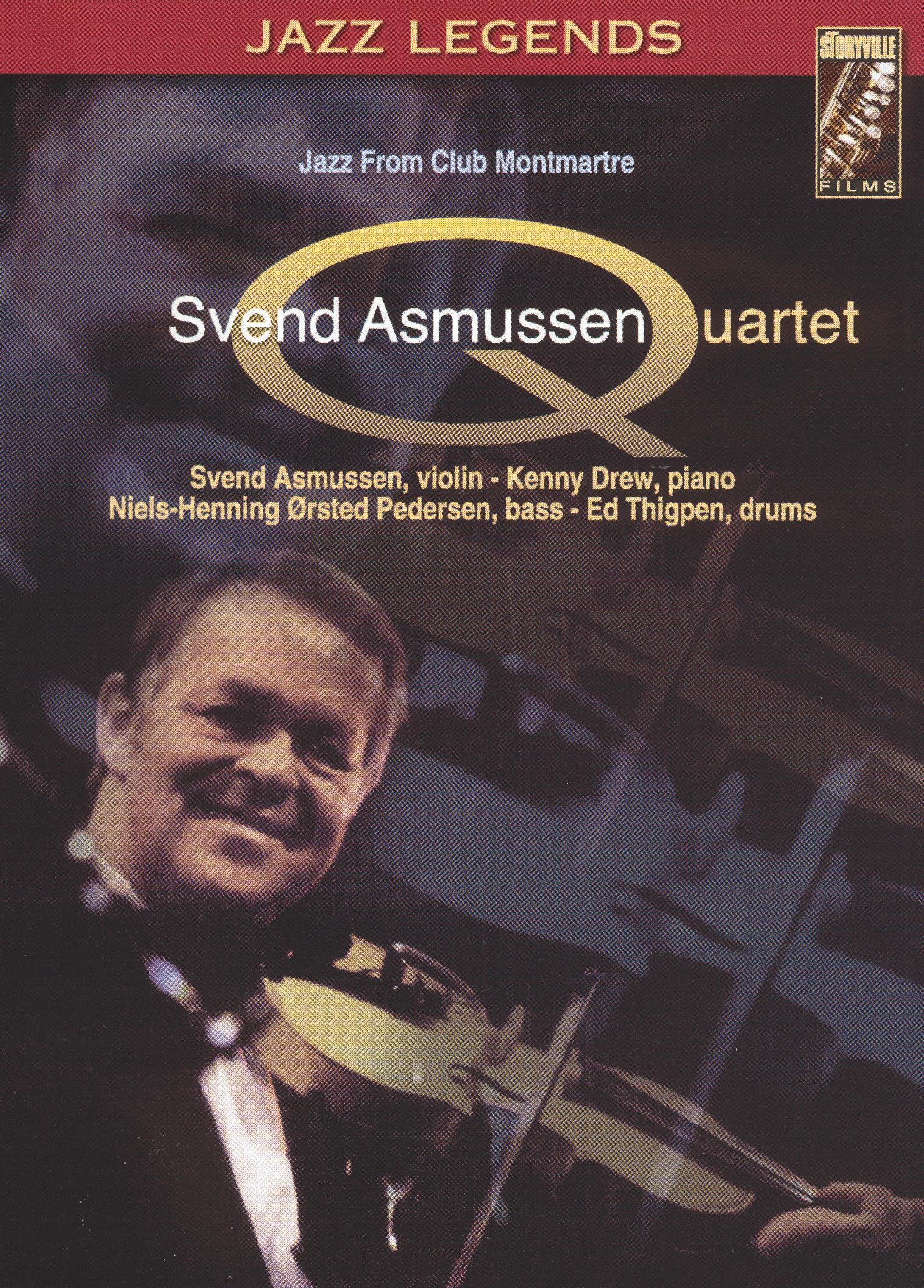 Svend Asmussen Quartet: Jazz from Club Montmartre