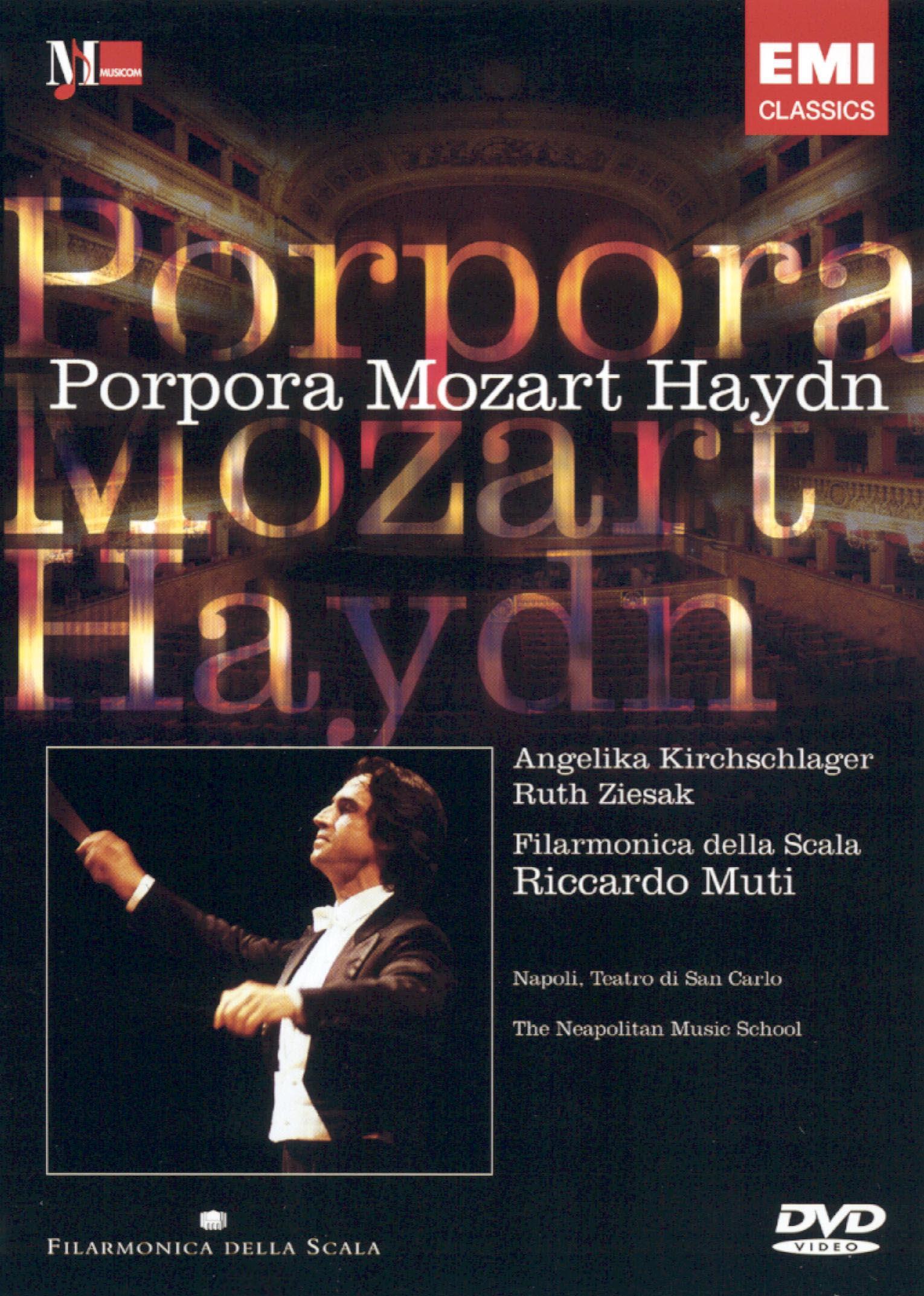 Porpora/Mozart/Haydn: Filarmonica Della Scala