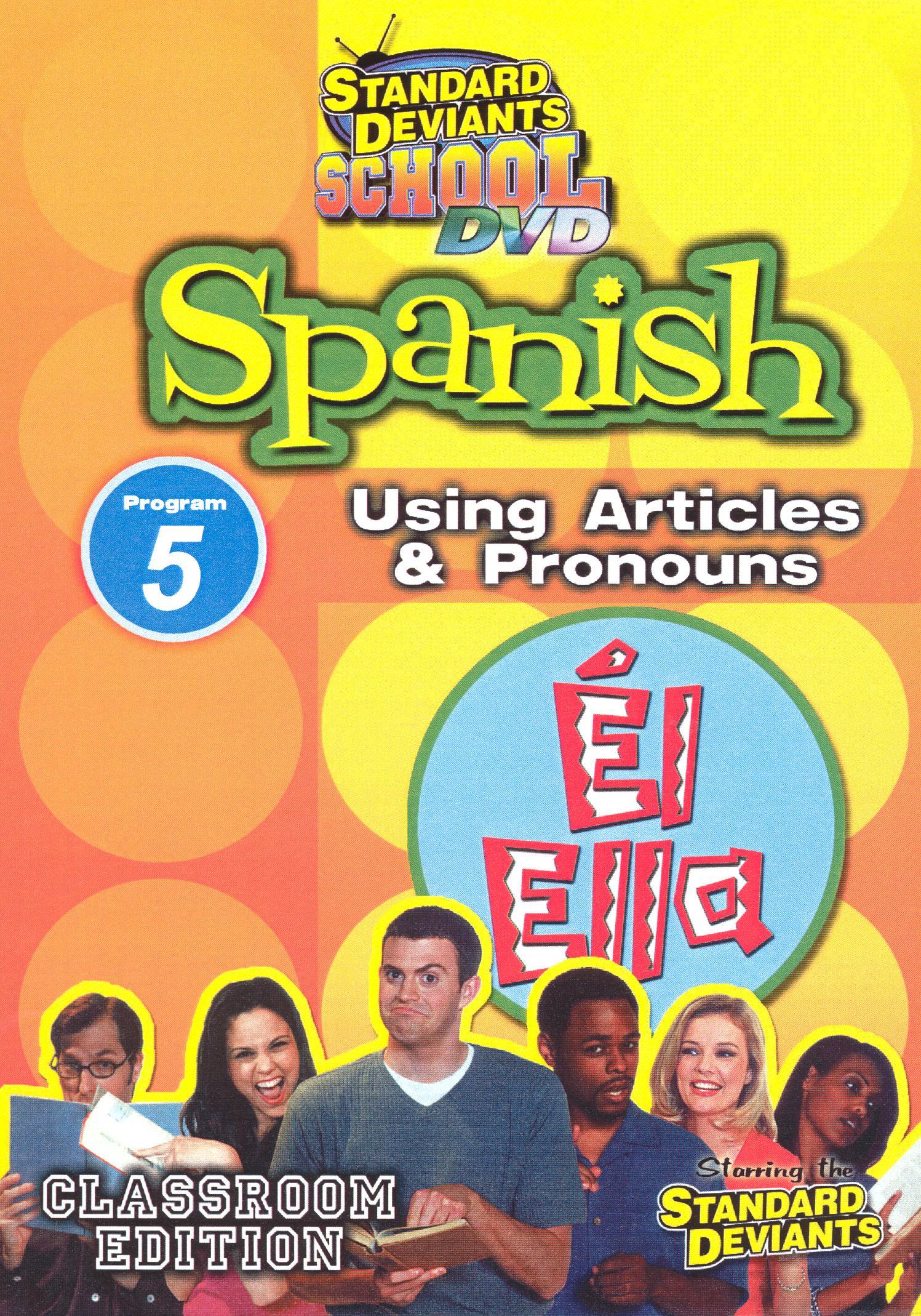Standard Deviants School: Spanish, Program 5