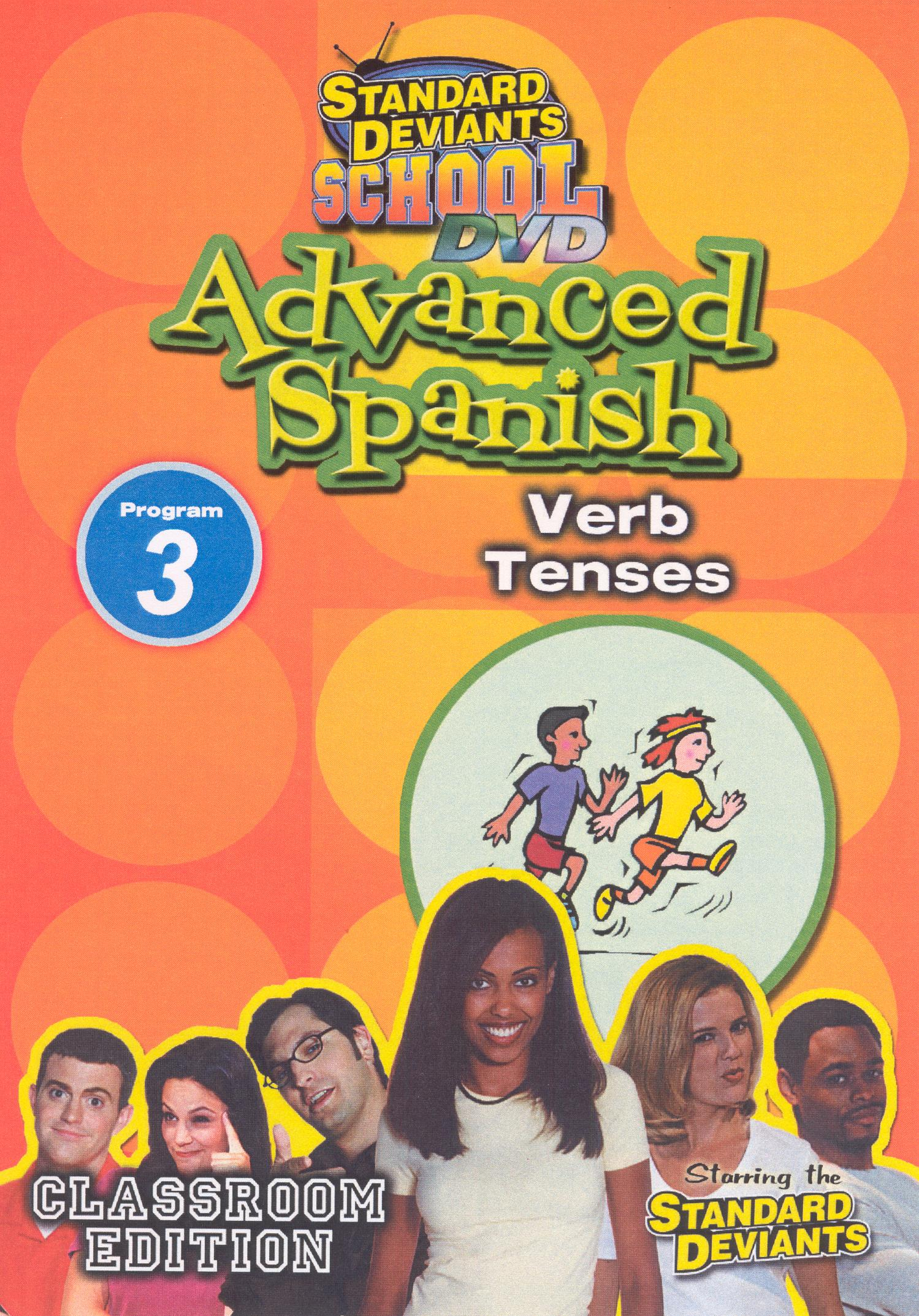 Standard Deviants School: Advanced Spanish, Program 3