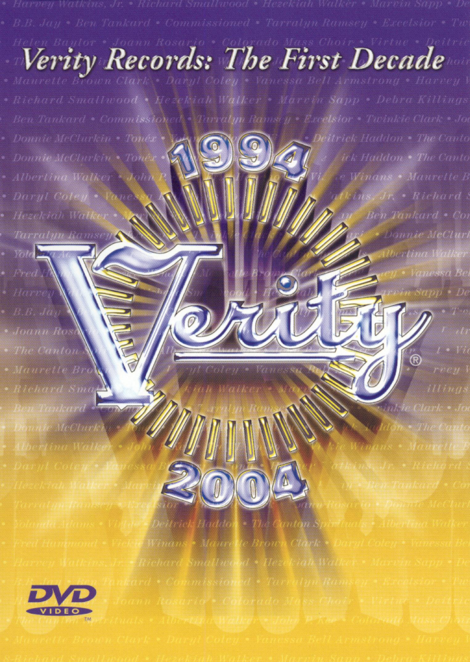 Verity Records: The First Decade