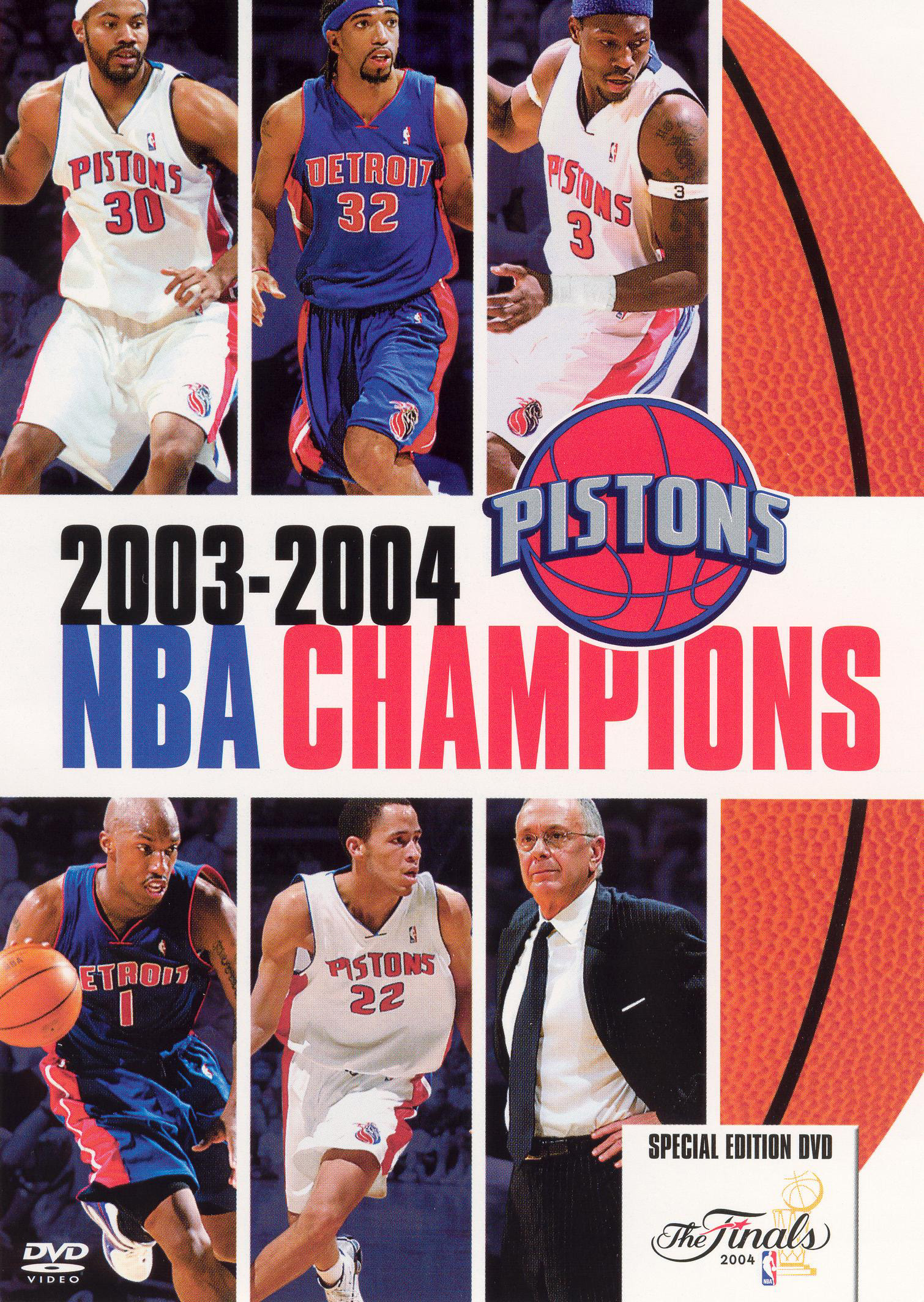 The Official 2004 NBA Championship: Detroit Pistons