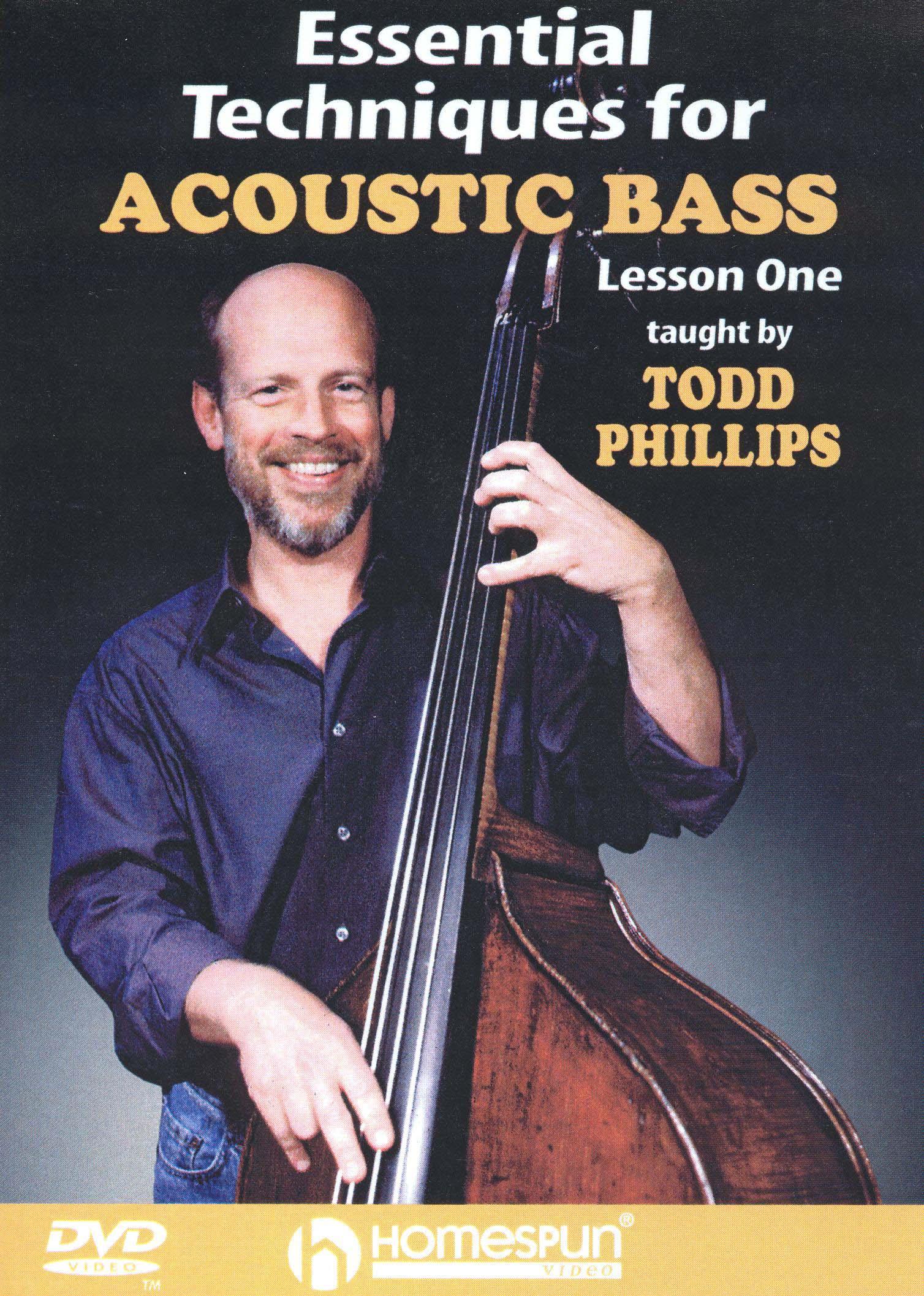 Essential Techniques for Acoustic Bass, Lesson 1