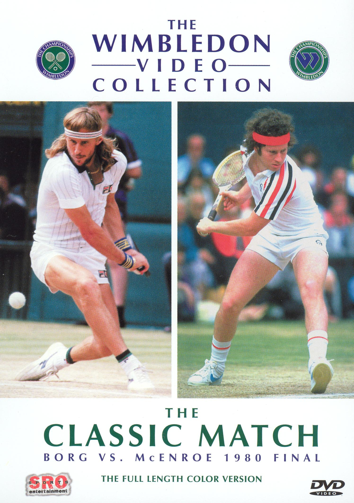 The Wimbledon Video Collection: The Classic Match - Borg vs. McEnroe 1980 Final