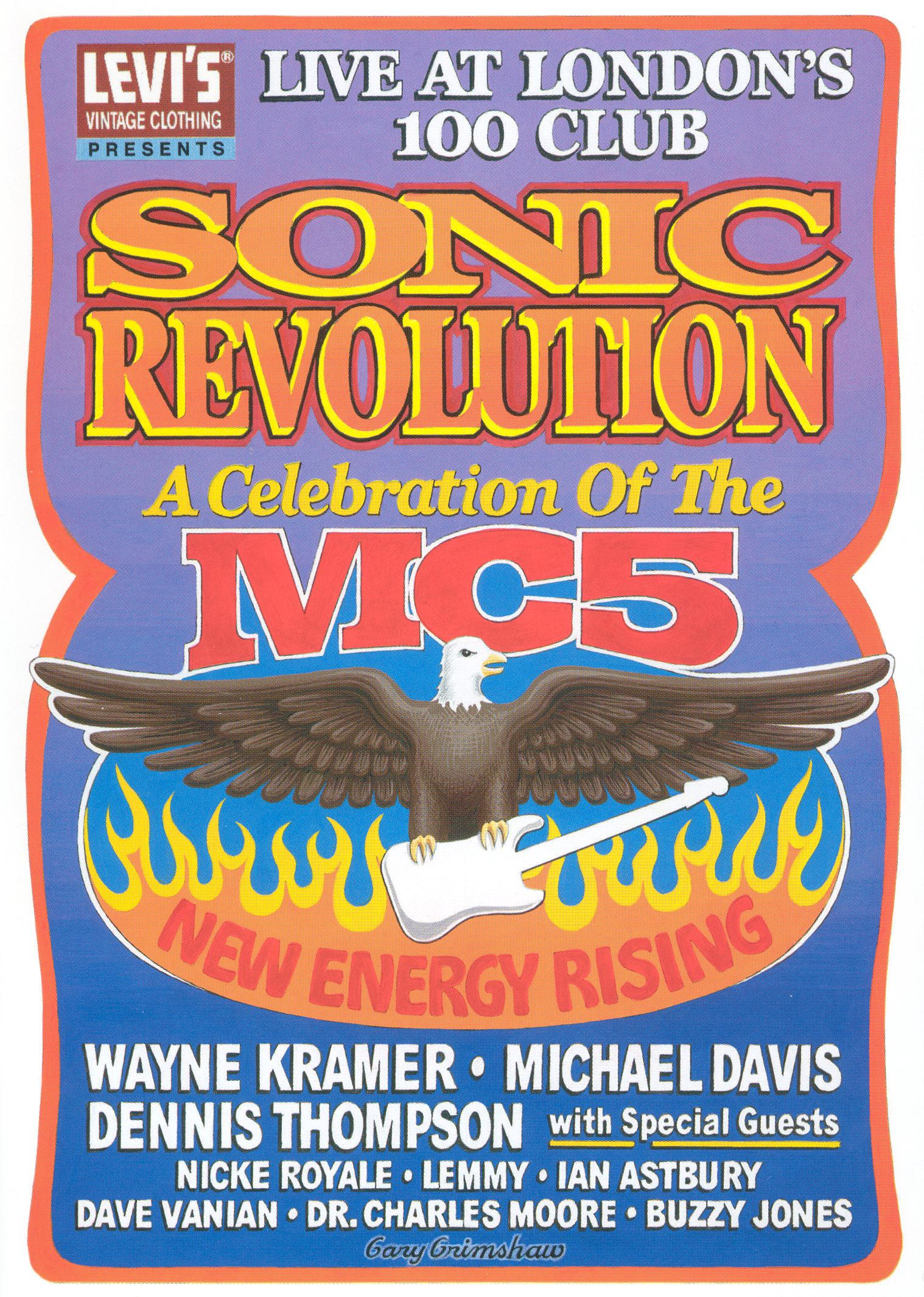 Sonic Revolution: A Celebration of the MC5 - Live at London's 100 Club