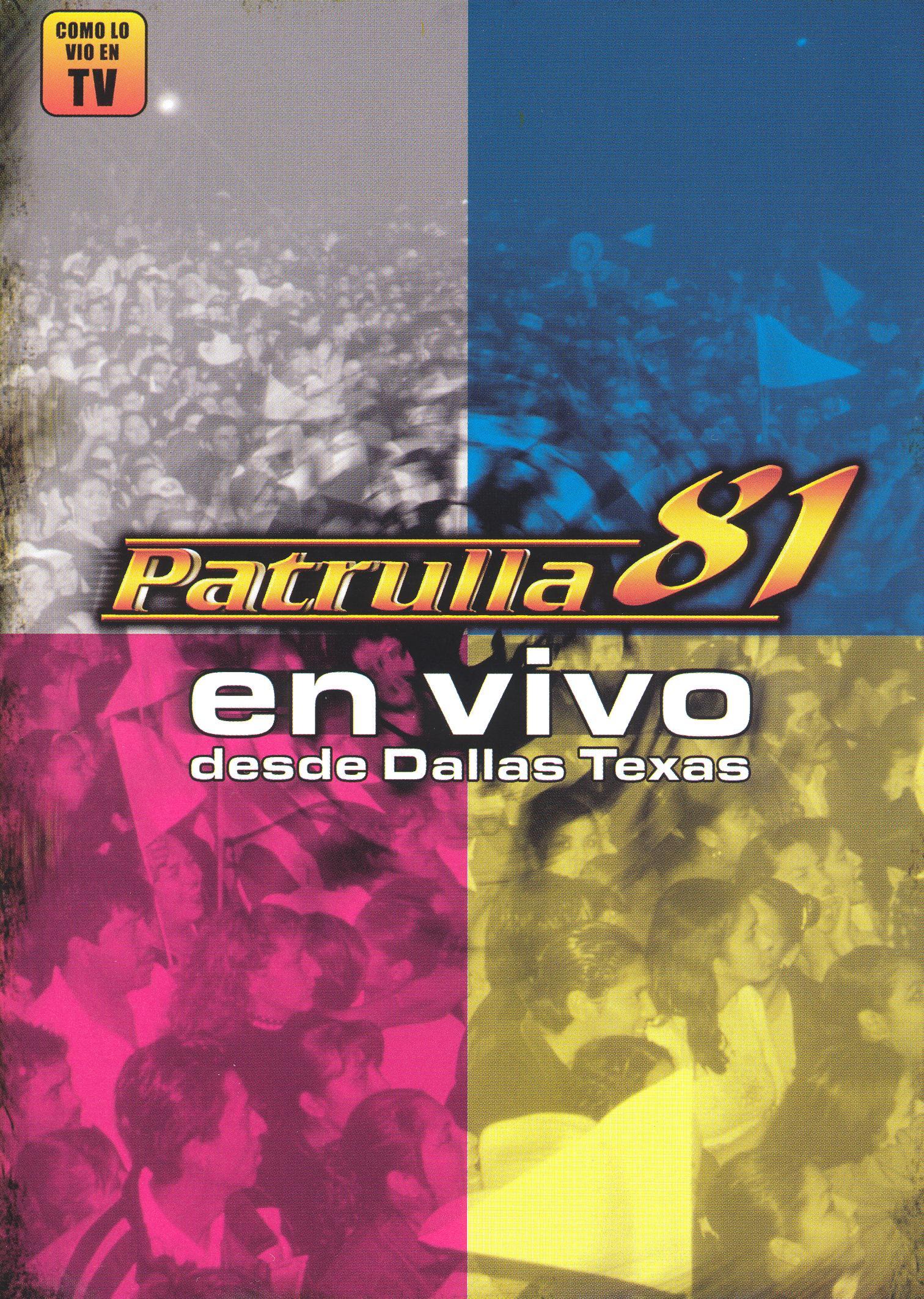 Patrulla 81: En vivo desde Dallas, Texas