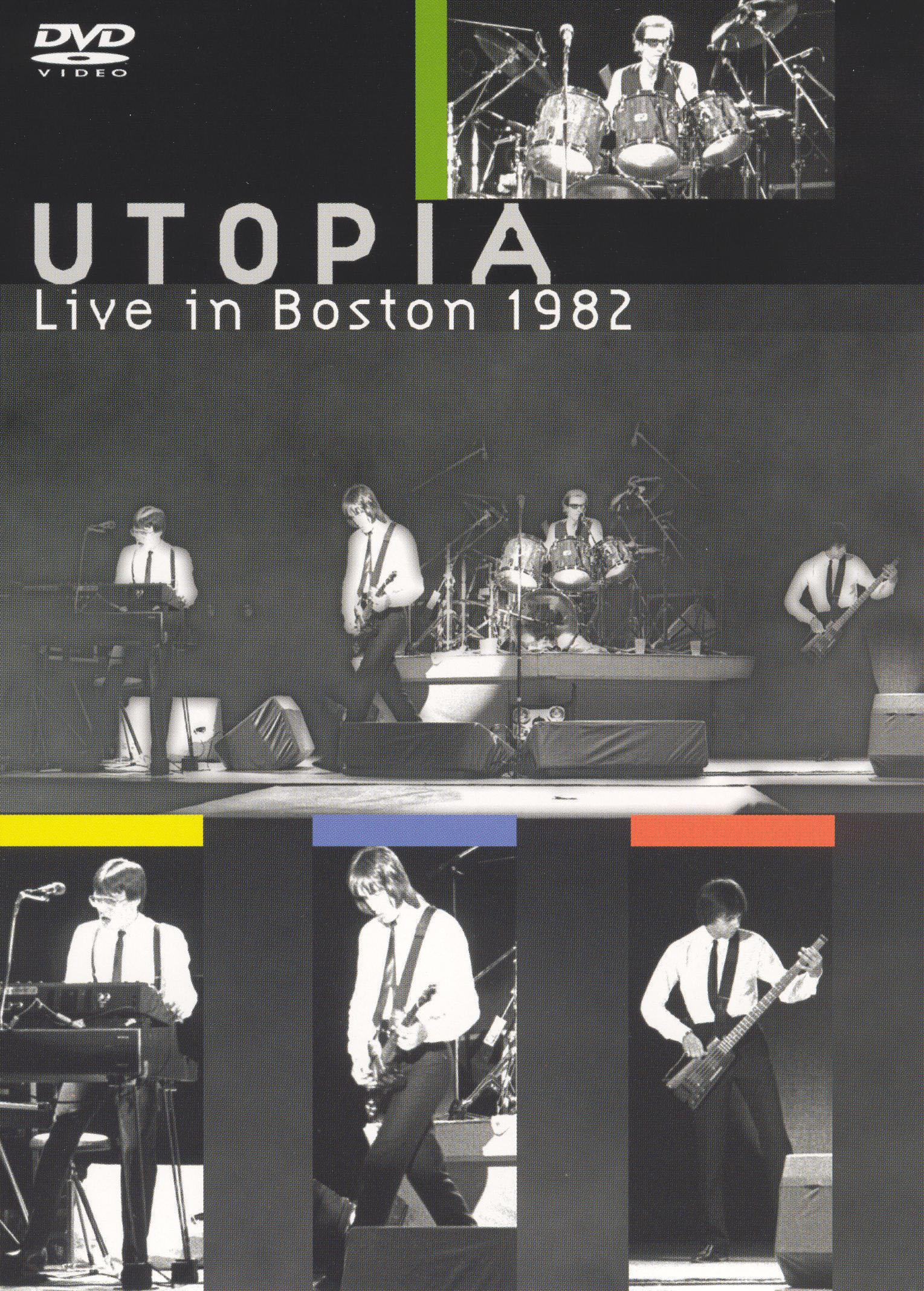Utopia: Live In Boston 1982 - | Synopsis, Characteristics ...