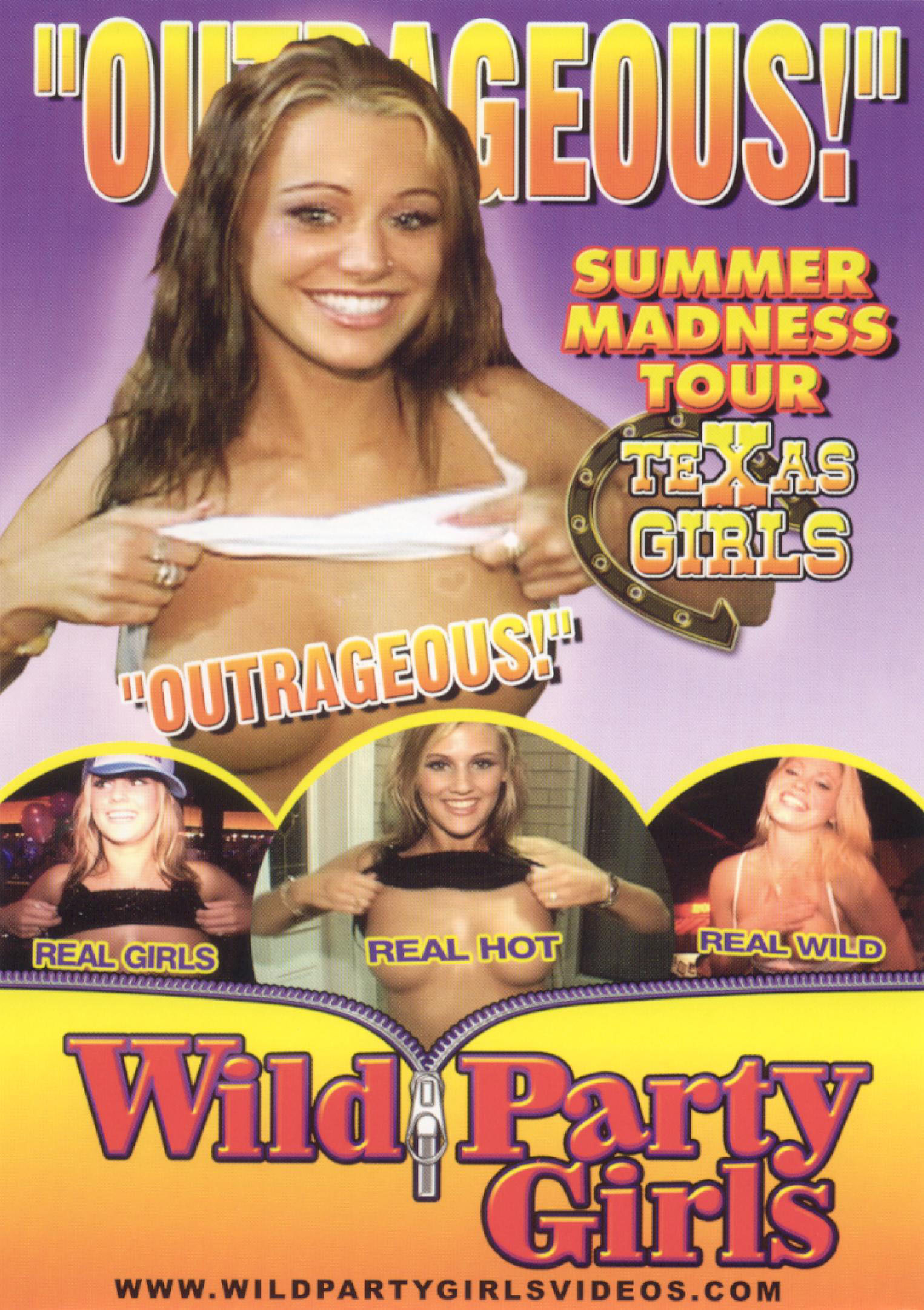 Wild Party Girls: Summer Madness Tour - Texas Girls