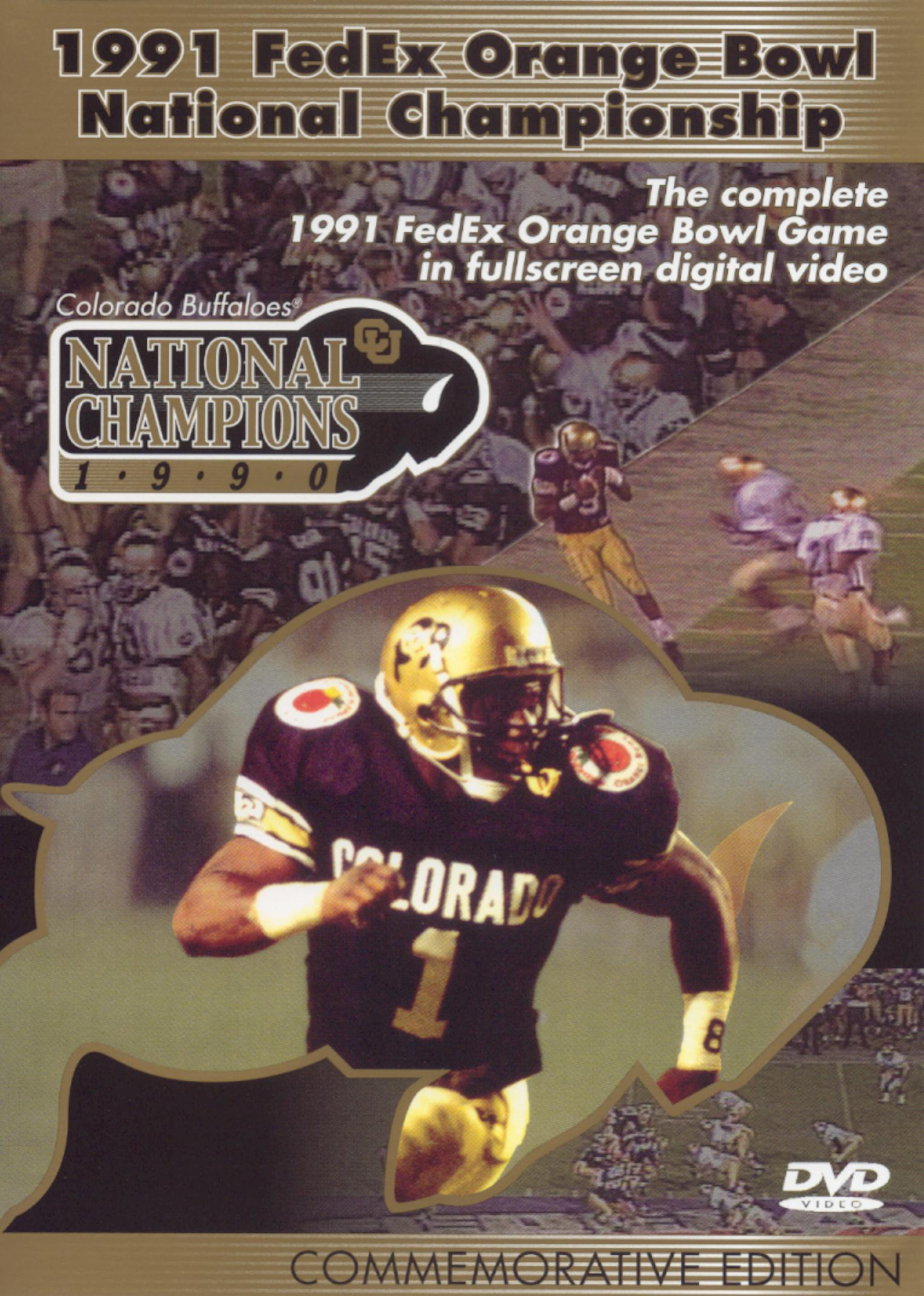 Colorado Buffaloes: 1991 FedEx Orange Bowl National Championship