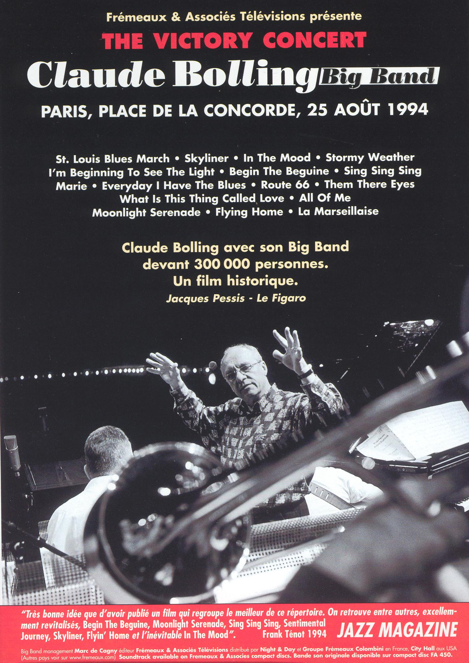 Claude Bolling Big Band: The Victory Concert