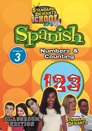Standard Deviants School: Spanish, Program 3