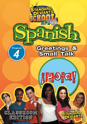 Standard Deviants School: Spanish, Program 4