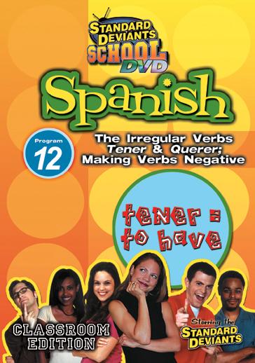 Standard Deviants School: Spanish, Program 12