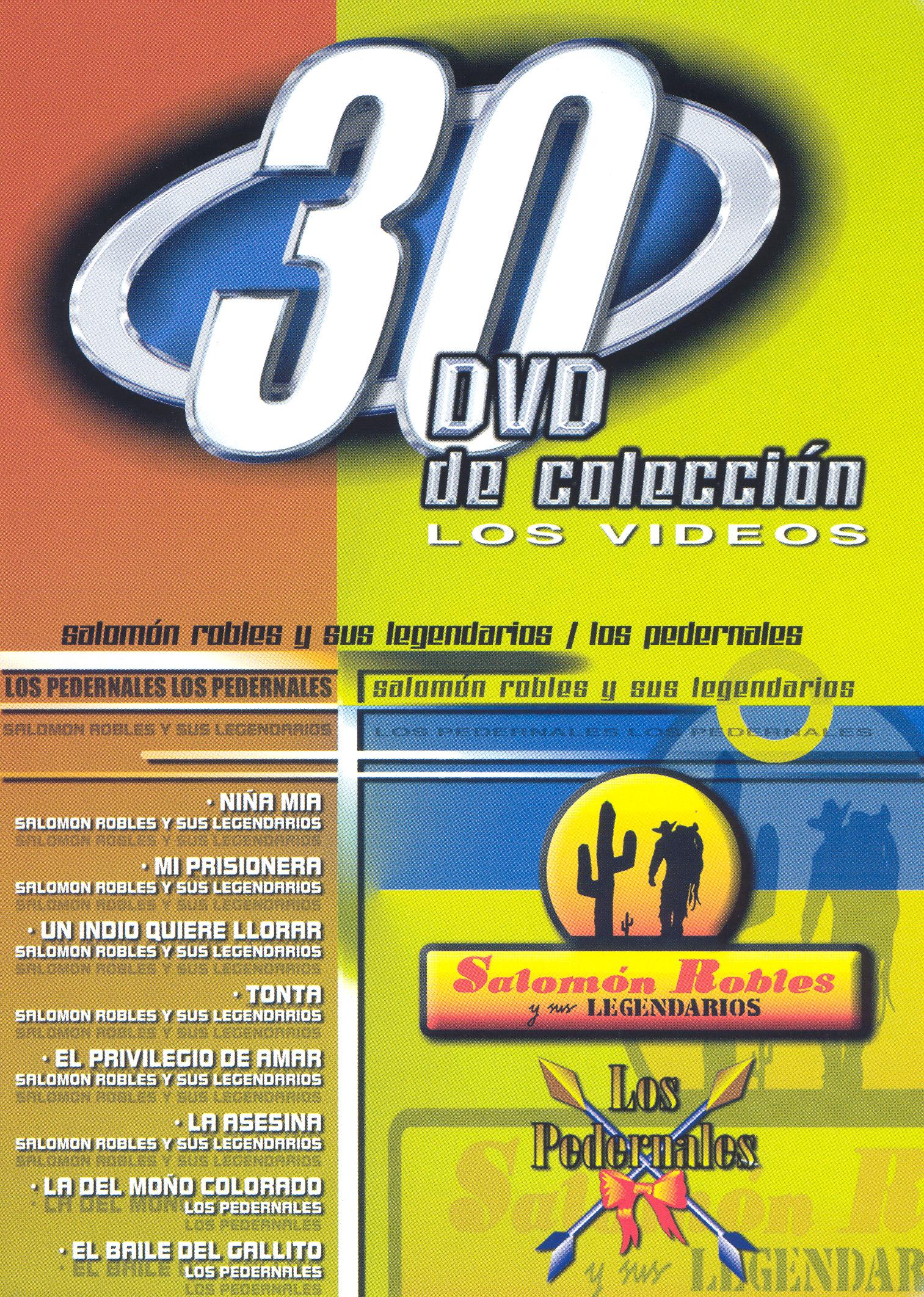 Salomon Robles/Pederales: 30 DVD de Coleccion