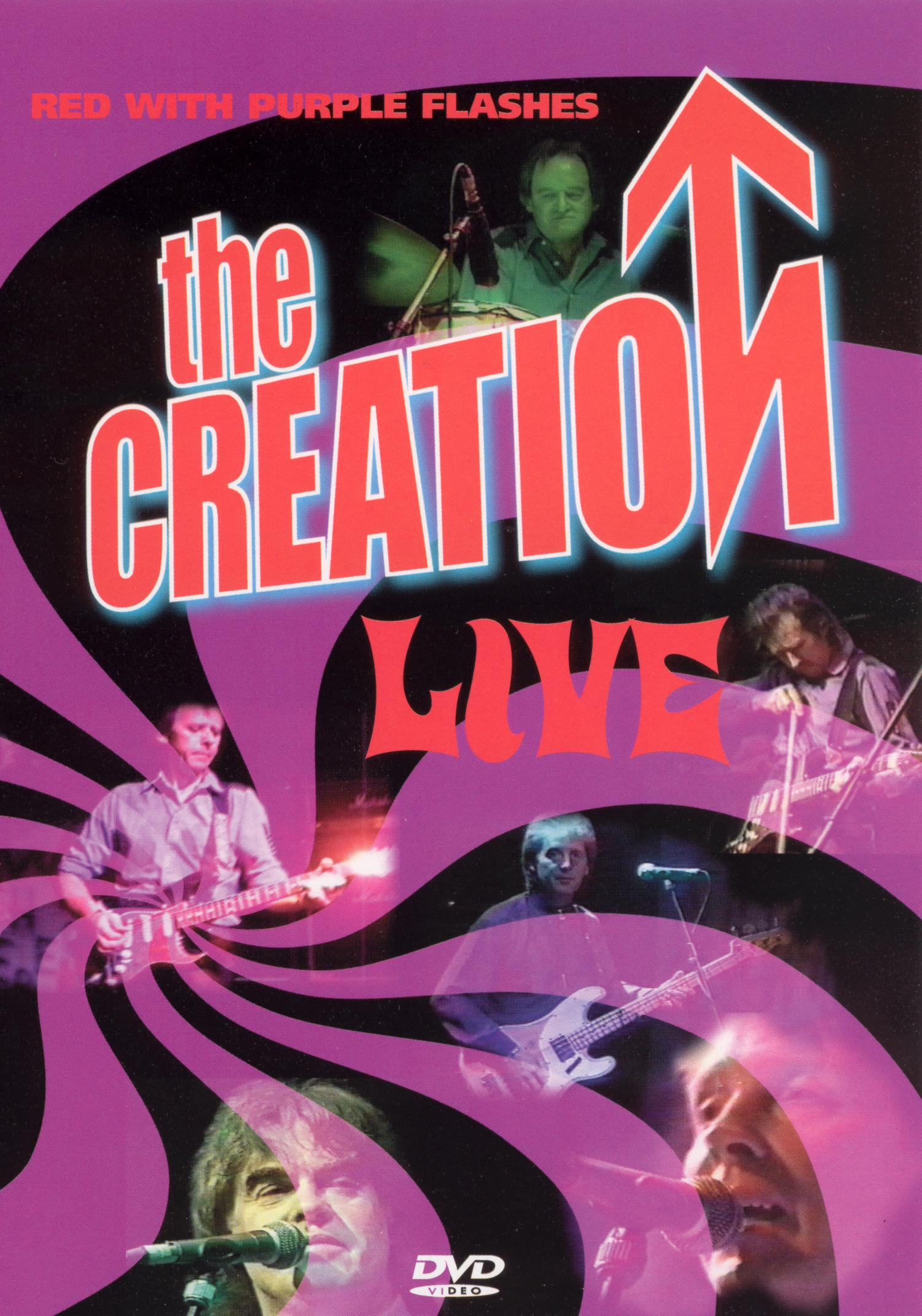 The Creation: Red With Purple Flashes - Live