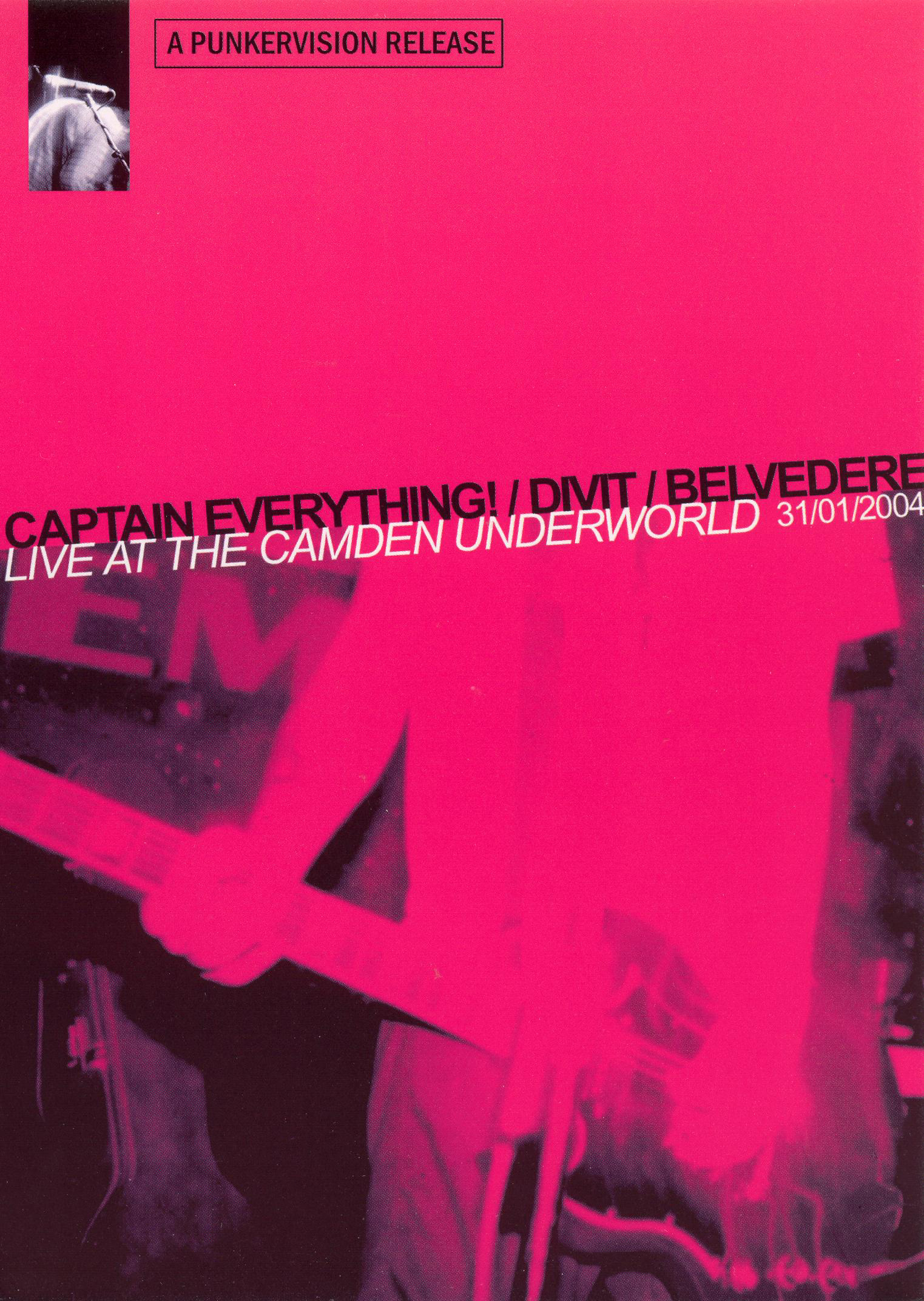 Captain Everything, Divit and Belvedere:  Live at Camden Underground