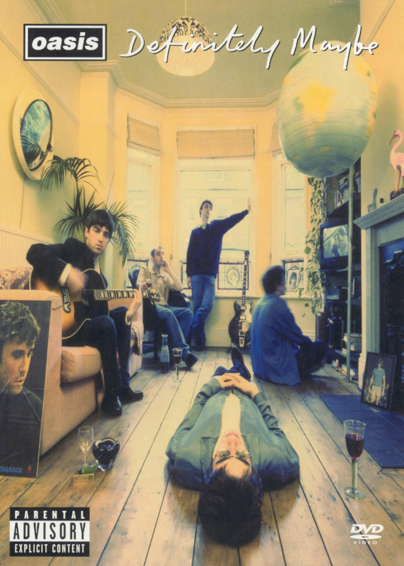 Oasis: Definitely Maybe - The DVD - | Synopsis ... Oasis Band Album Cover