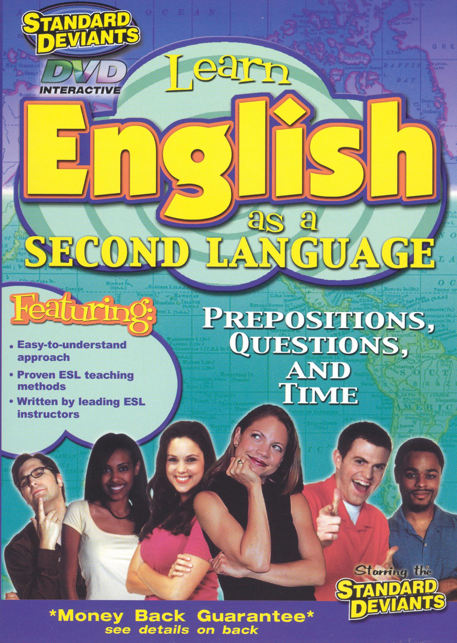 The Standard Deviants: ESL Program, Vol. 2 - Prepositions, Questions and Time