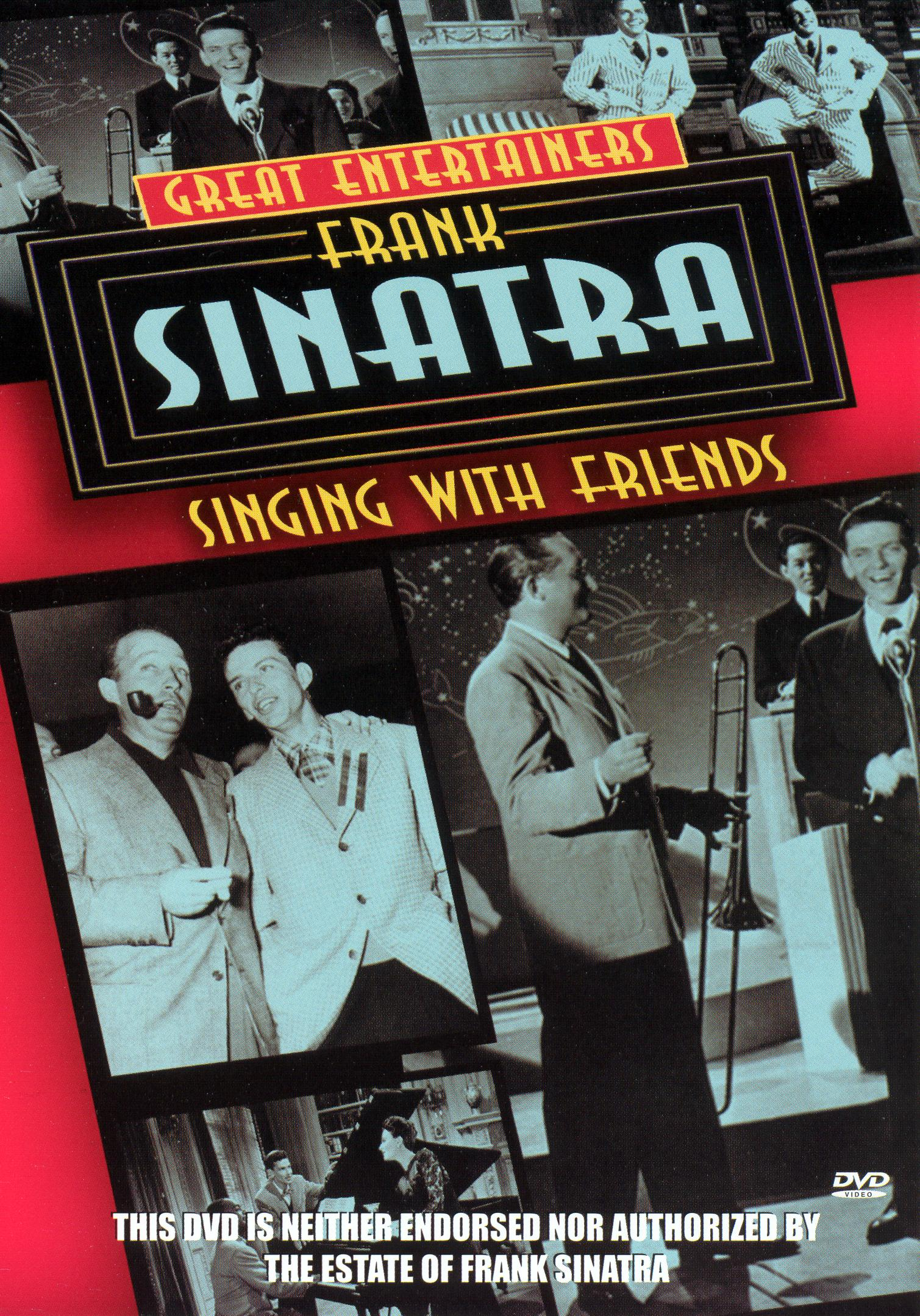 Great Entertainers: Frank Sinatra Singing With Friends