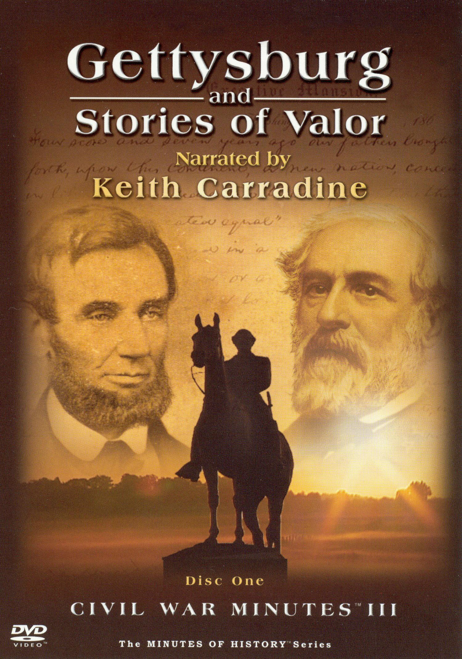 Civil War Minutes III: Gettysburg and Stories of Valor, Vol. 1