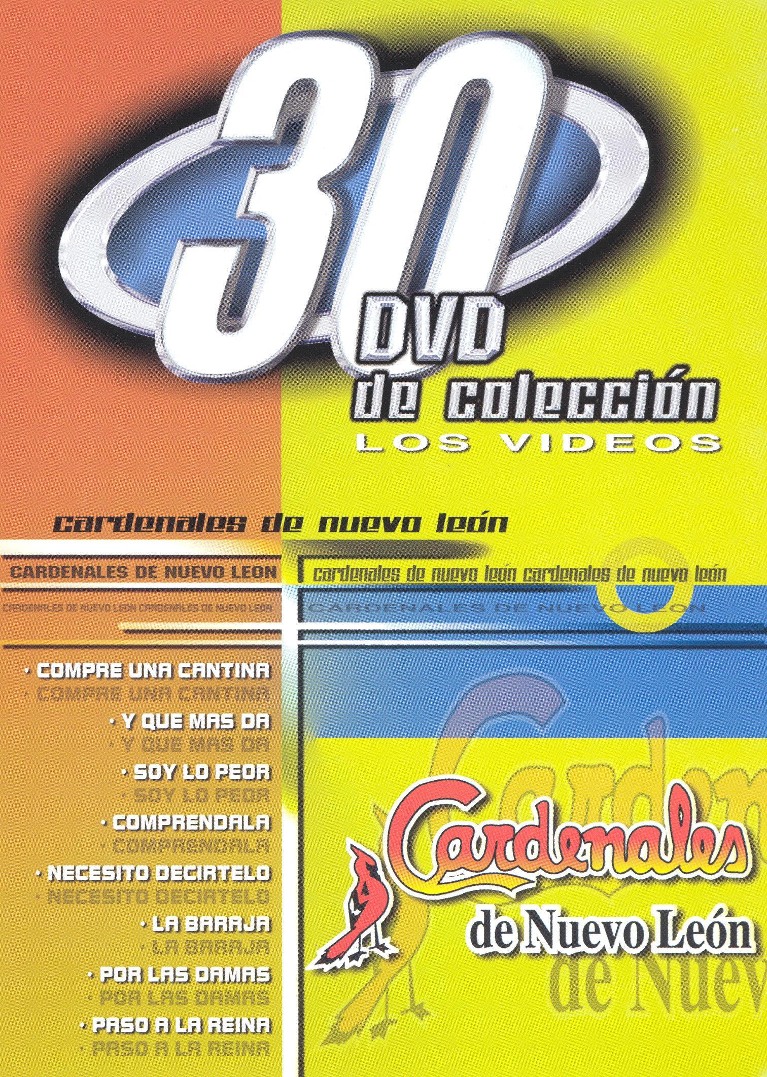 Los Cardenales de Nuevo Leon: 30 DVD De Coleccion