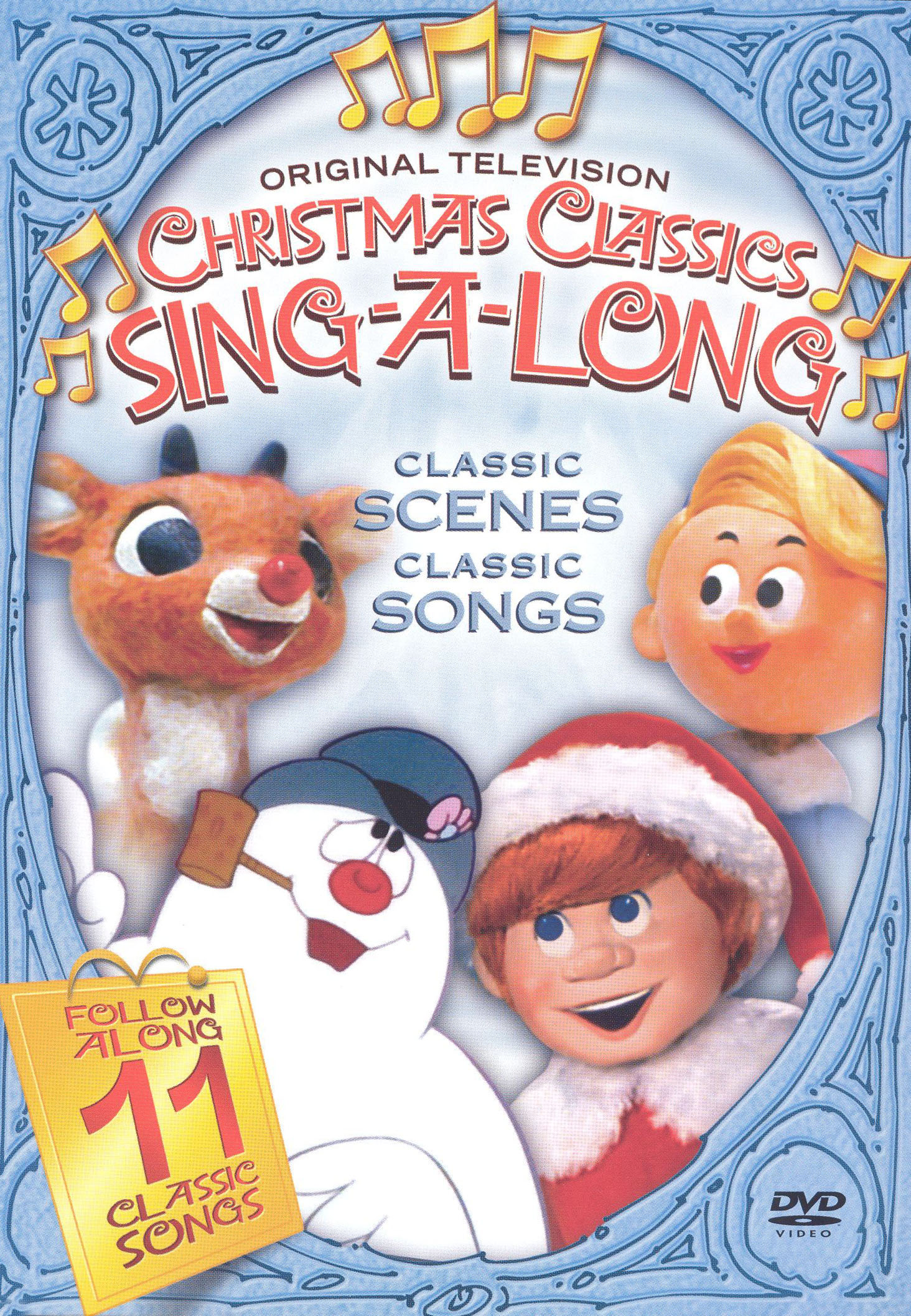 the original television christmas classics sing along - Original Christmas Classics