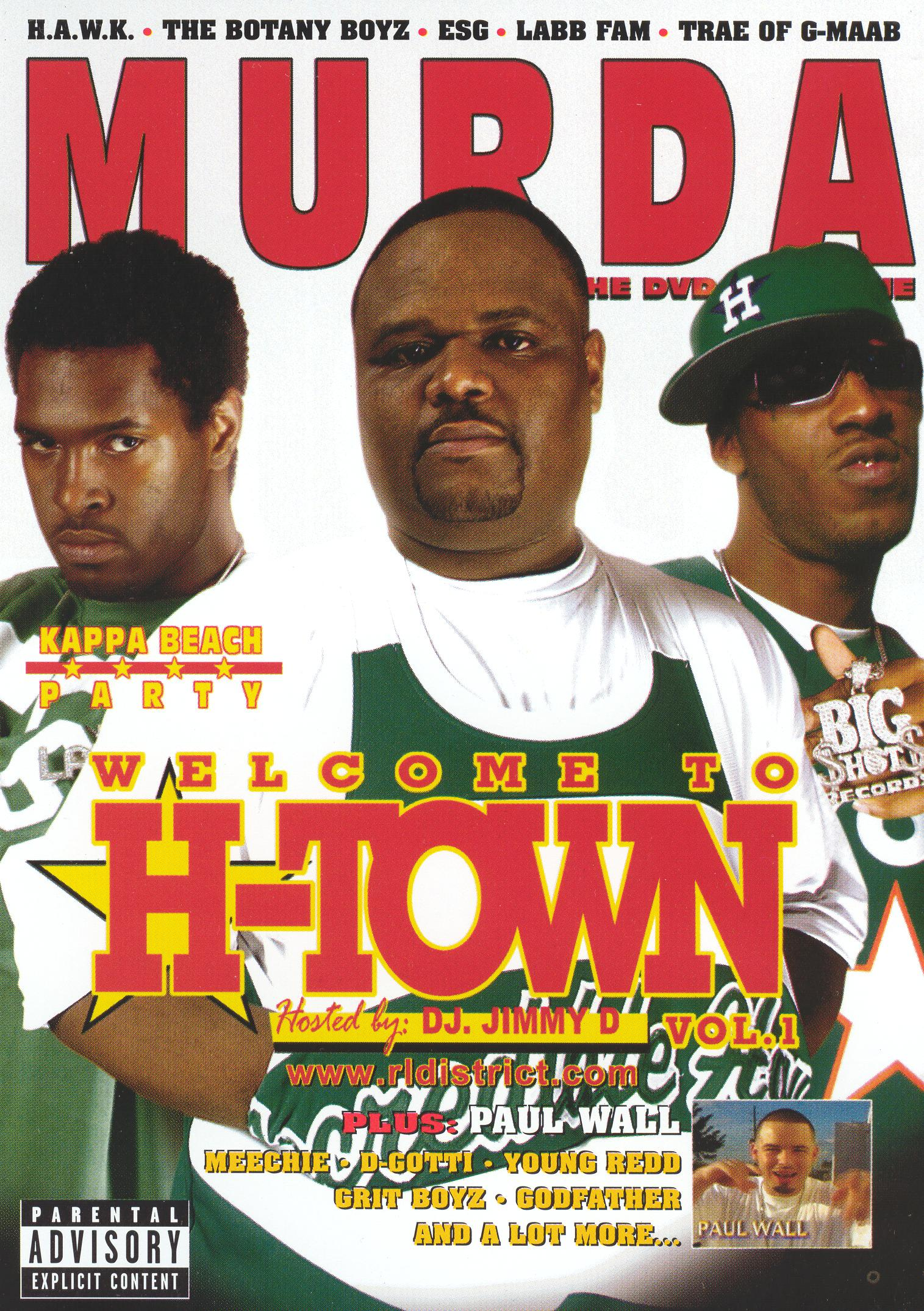 Murda: The DVD Magazine - Welcome to H-Town, Vol. 1