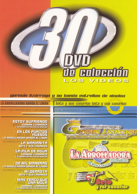 German Lizarraga/Beto Y Sus Canarios/La Arrollador: 30 DVD De Coleccion
