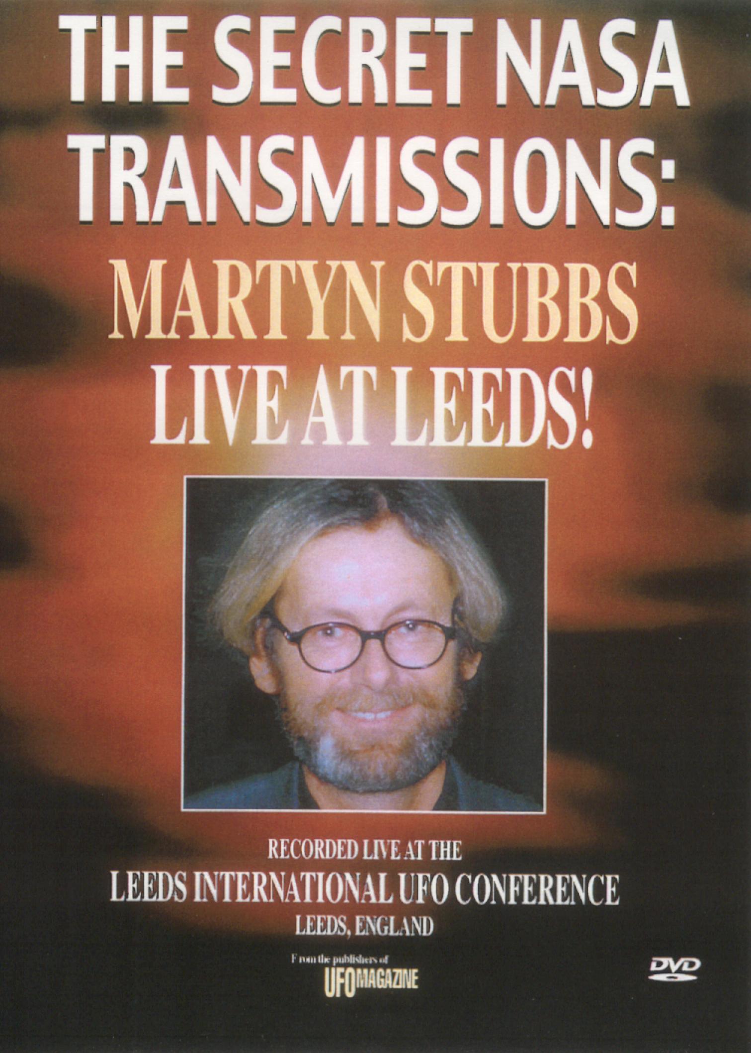 The Secret NASA Transmissions: Martyn Stubbs Live at Leeds!