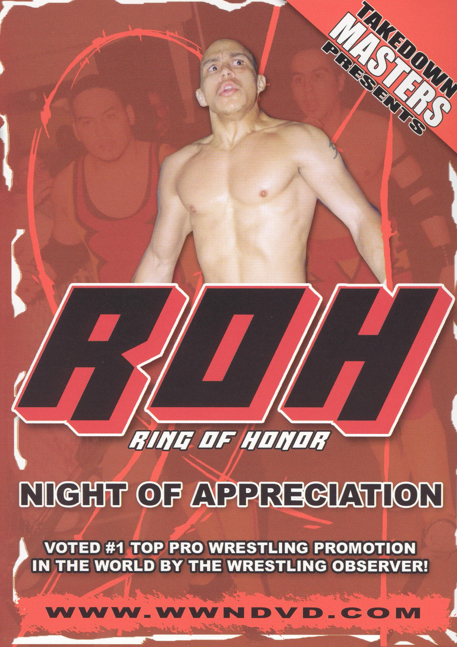 Takedown Masters: Ring of Honor - A Night of Appreciation