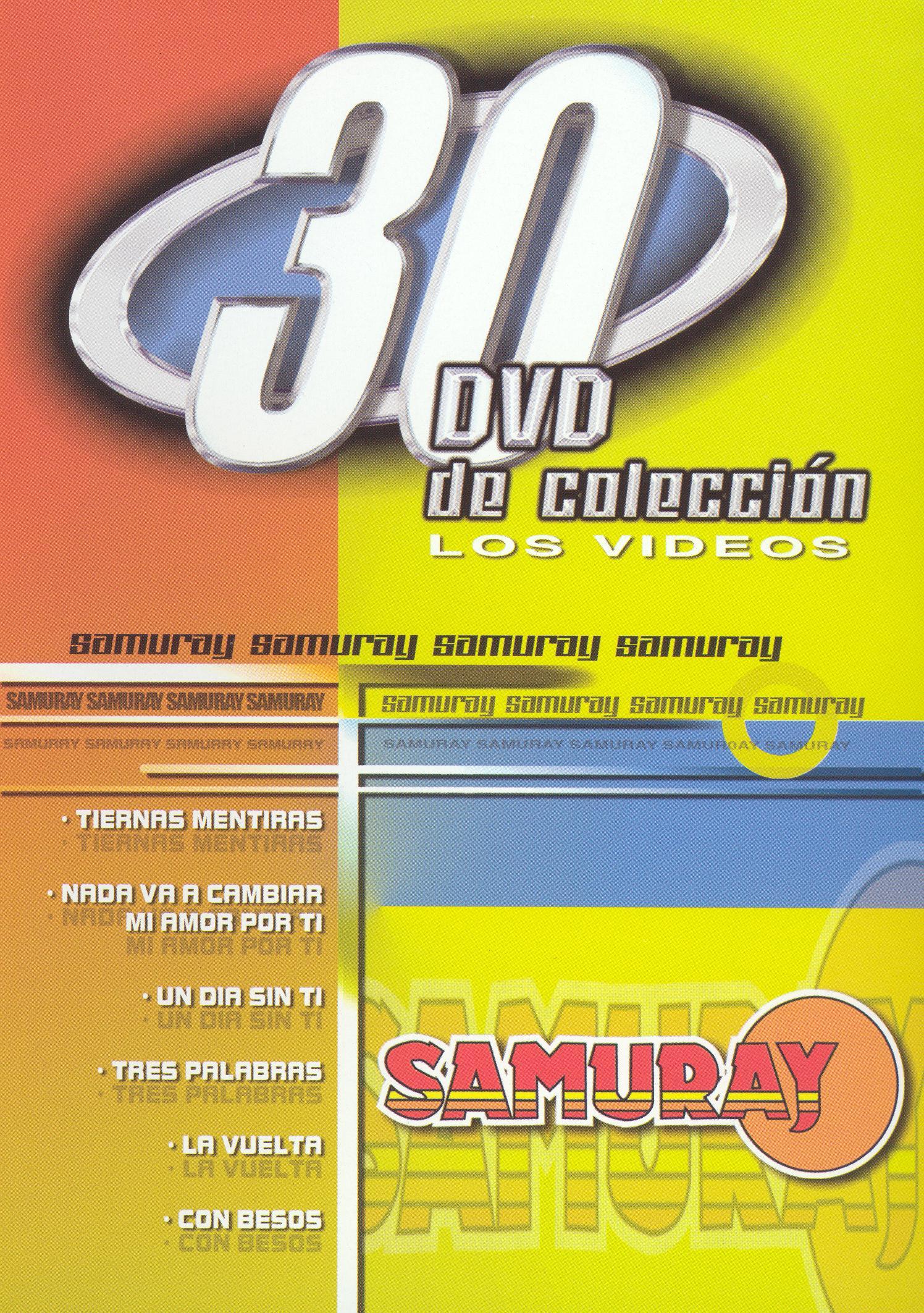 30 DVD De Coleccion: Samuray