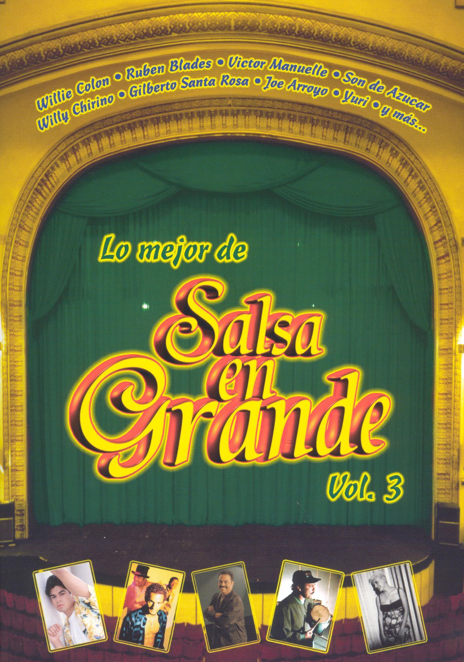 Lo Mejor de la Salsa en Grande, Vol. 3
