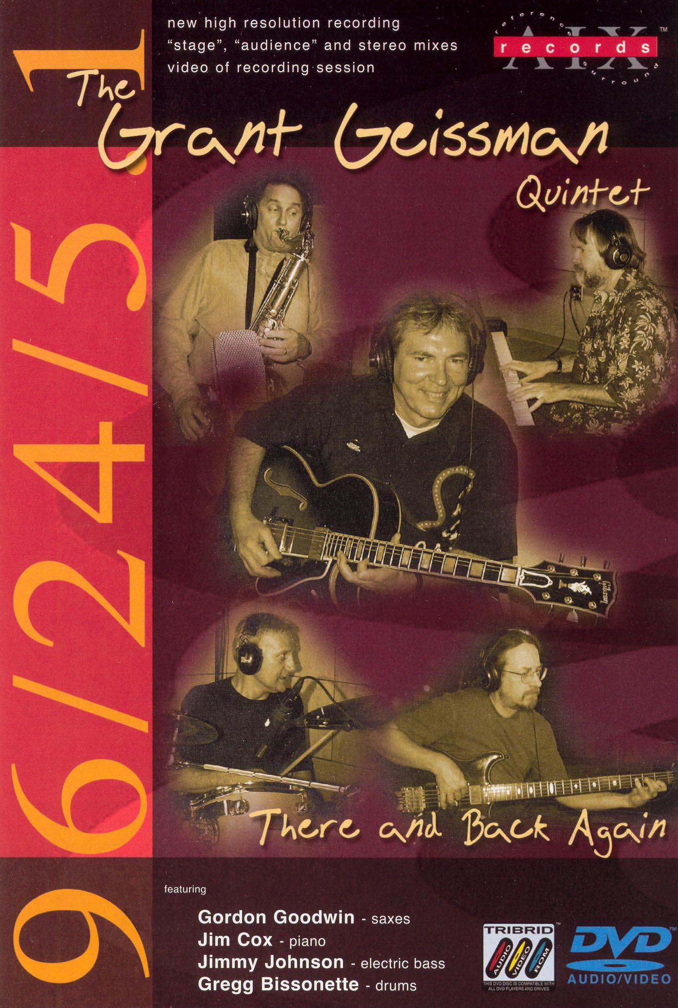 The Grant Geissman Quintet: There and Back Again