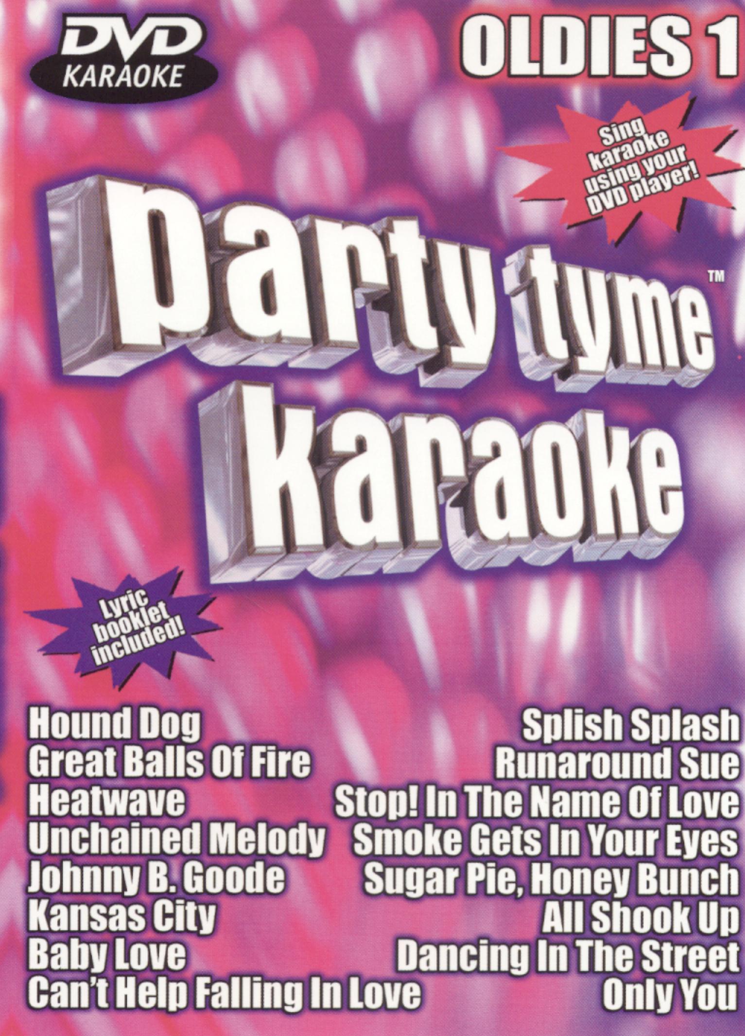 Party Tyme Karaoke: Oldies, Vol. 1
