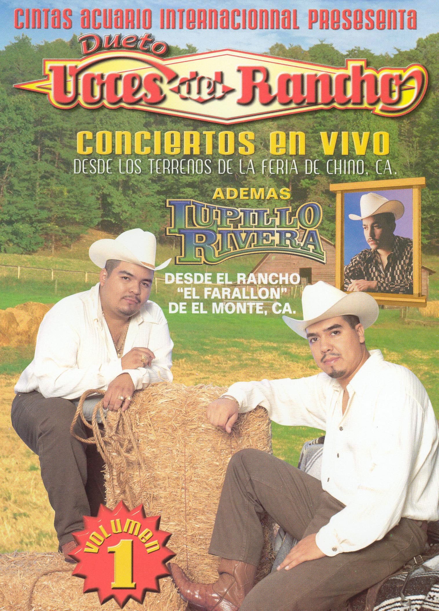 Dueto Voces Del Rancho: Conciertos En Vivo, Vol. 1