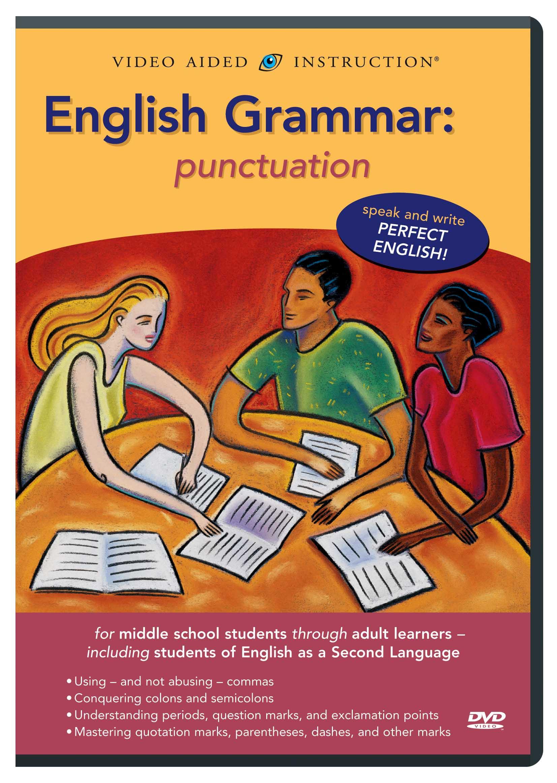 English Grammar: Punctuation