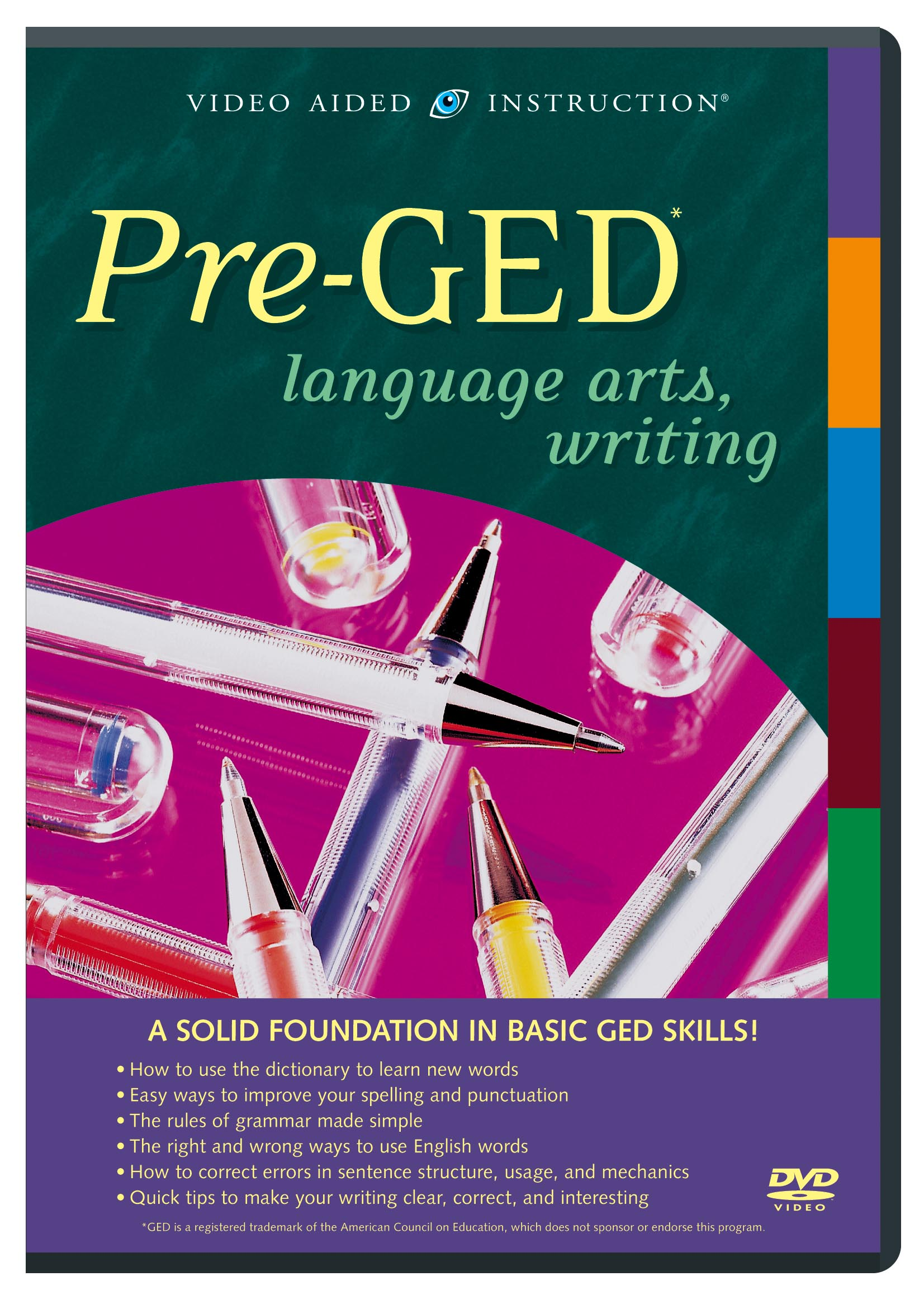 Pre-GED Language Arts, Writing