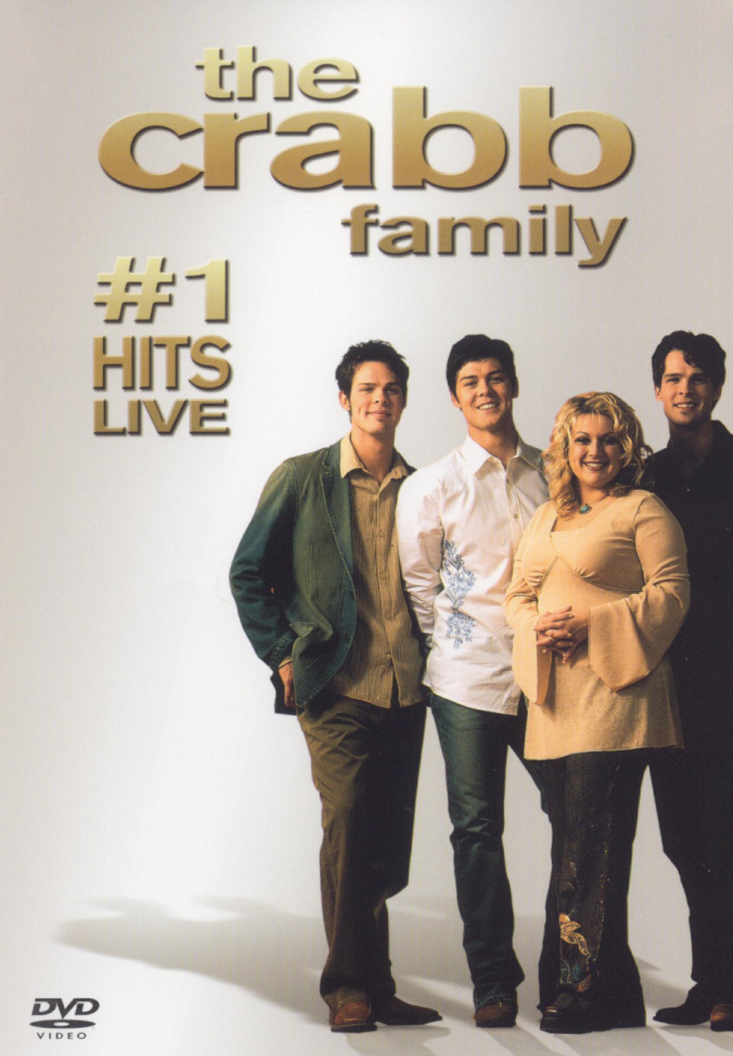 The Crabb Family: #1 Hits Live!