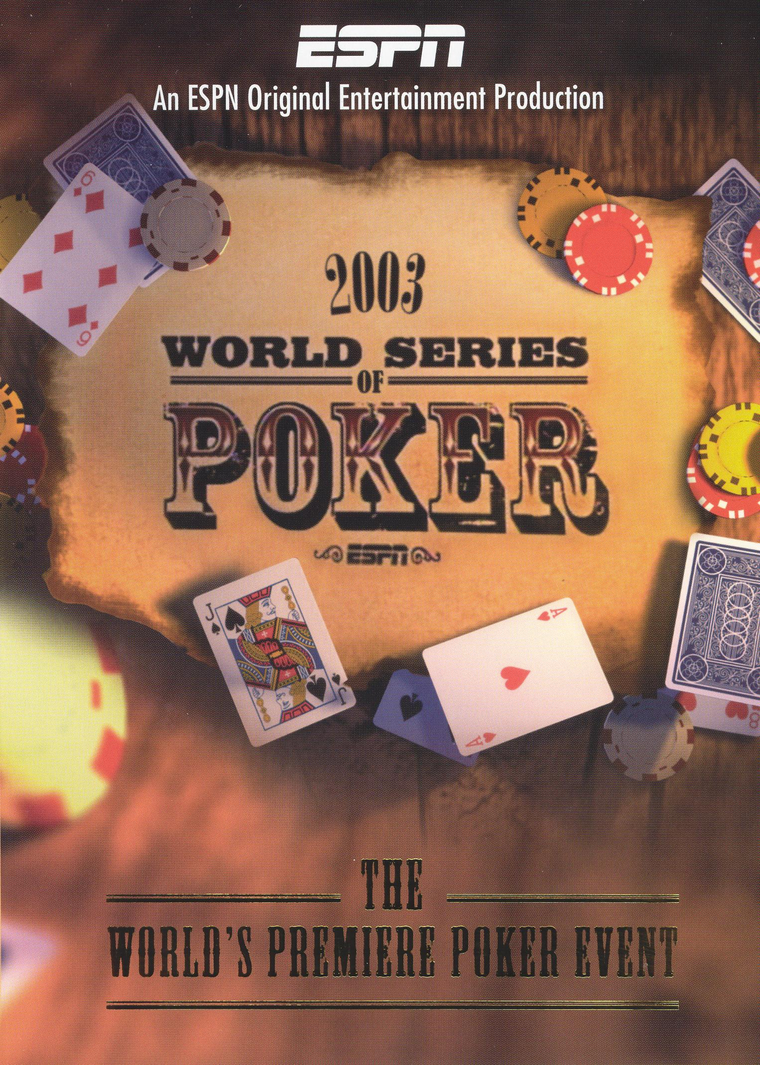 The 2003 World Series of Poker