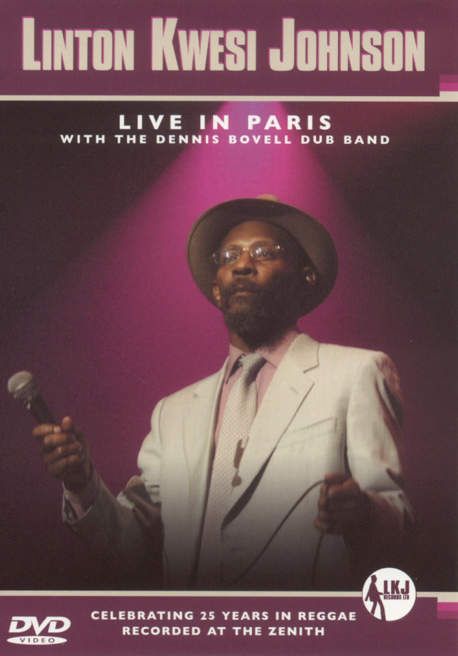 Linton Kwesi Johnson: Live in Paris