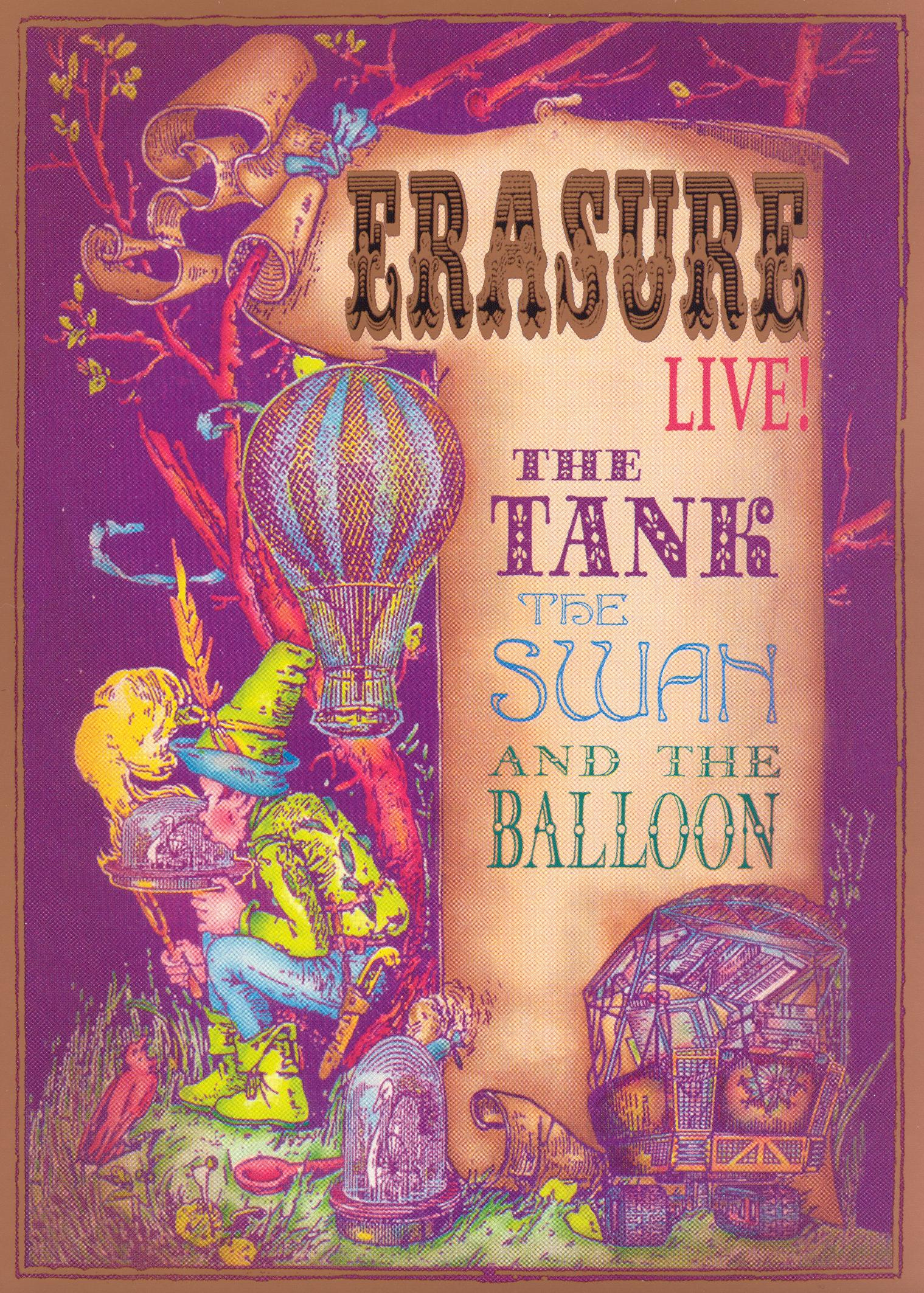 Erasure: The Tank, the Swan, and the Balloon Live!