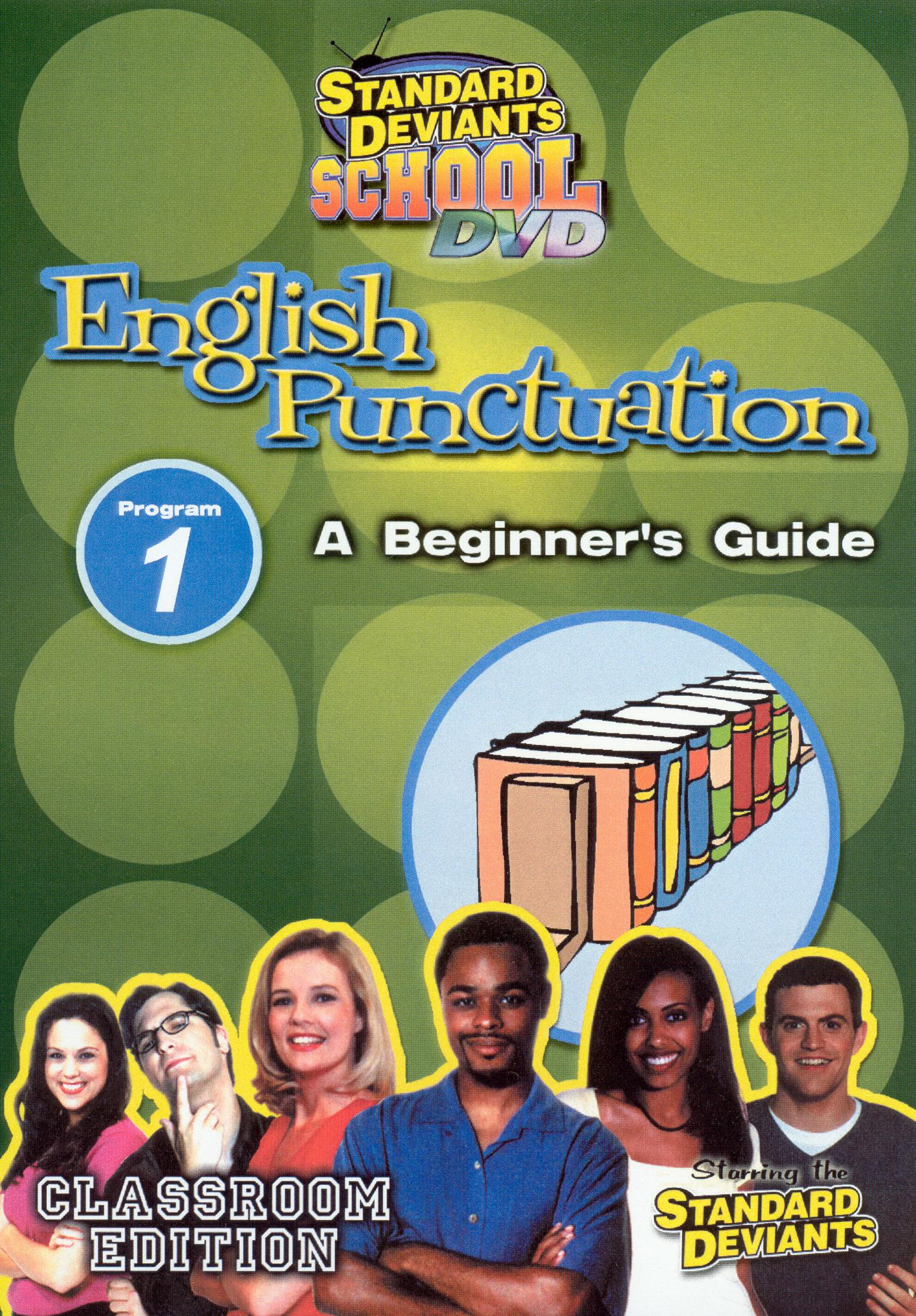 Standard Deviants School: English Puncuation, Program 1
