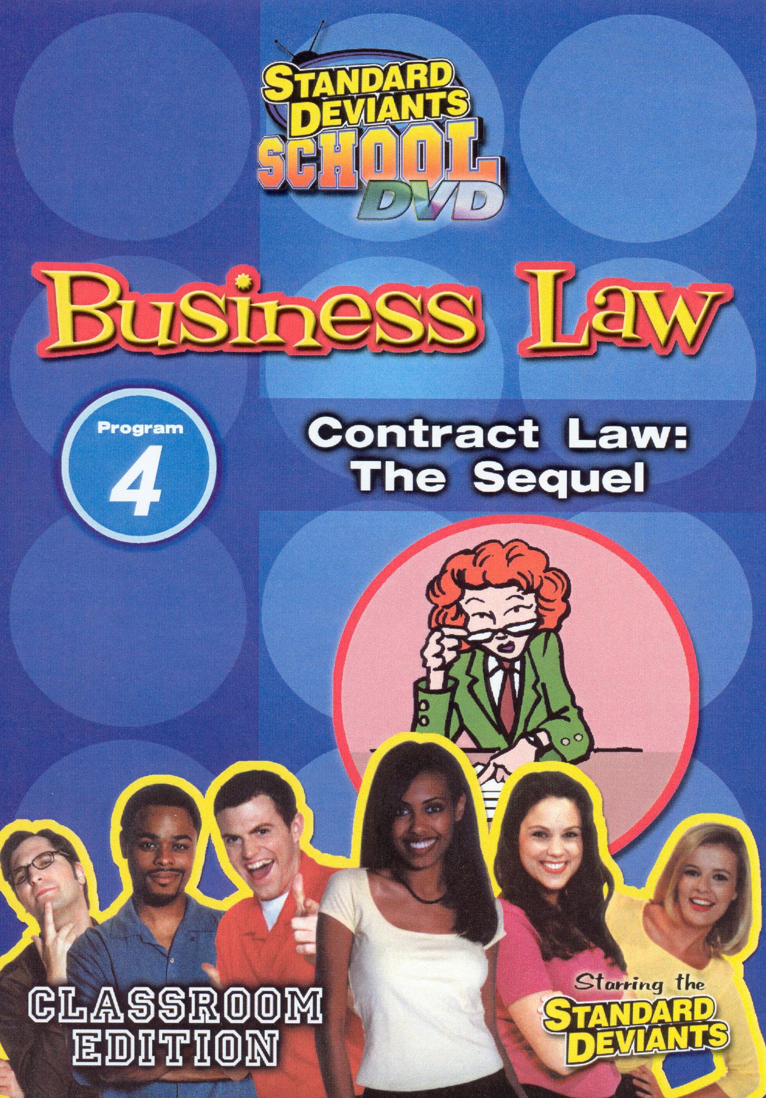 Standard Deviants School: Business Law, Program 4